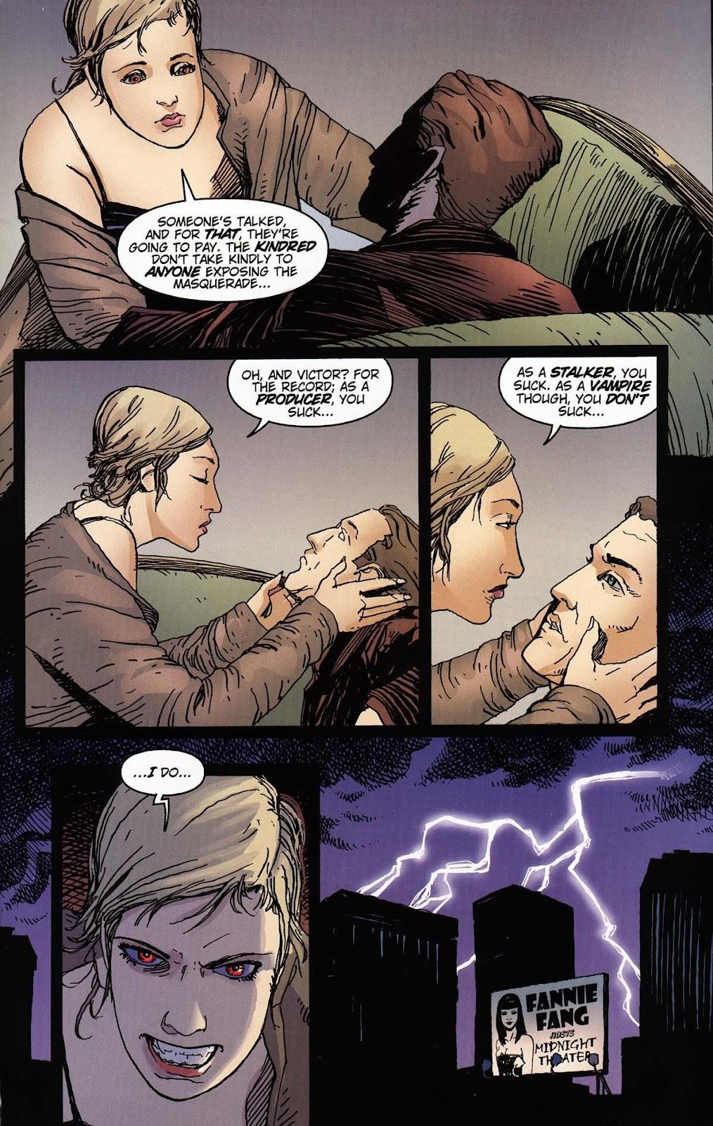 Read online Vampire the Masquerade comic -  Issue # Toreador - 49