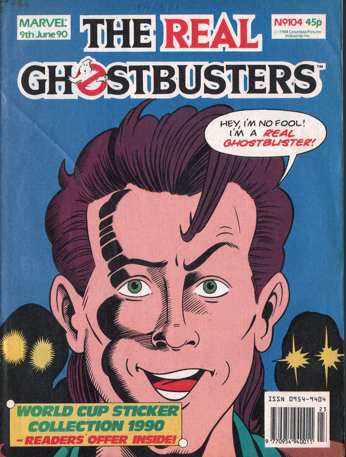 The Real Ghostbusters 104 Page 1
