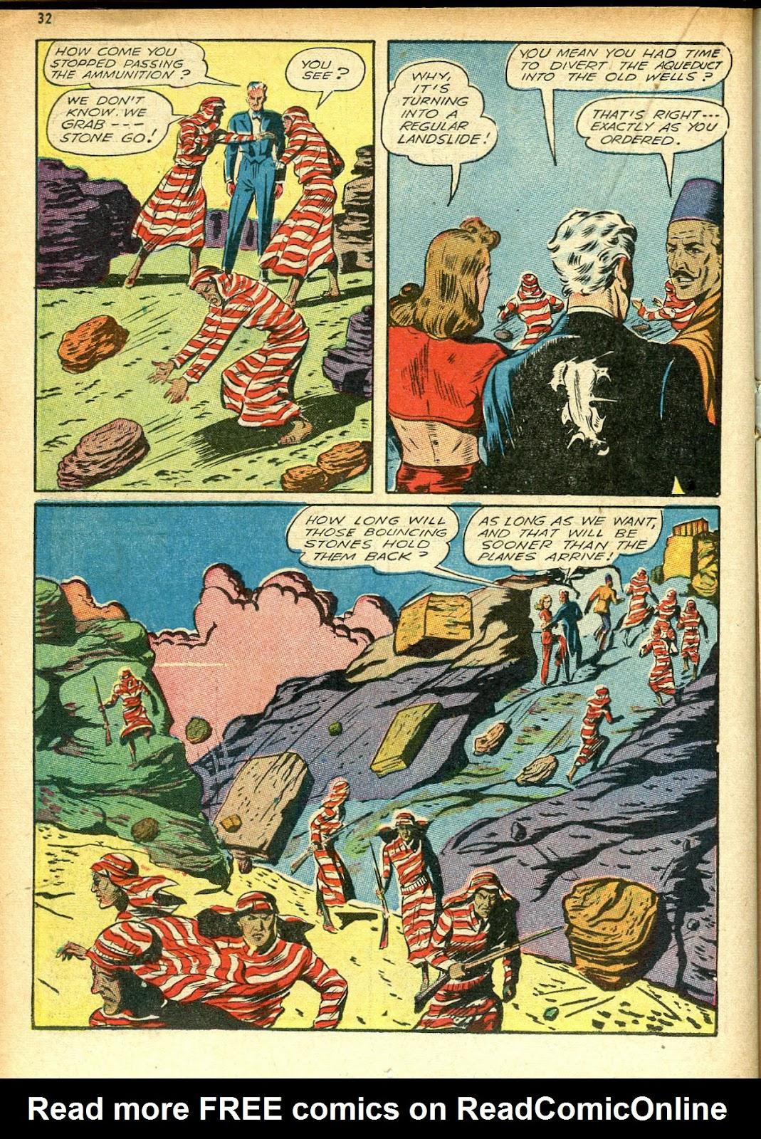 Read online Super-Magician Comics comic -  Issue #12 - 32