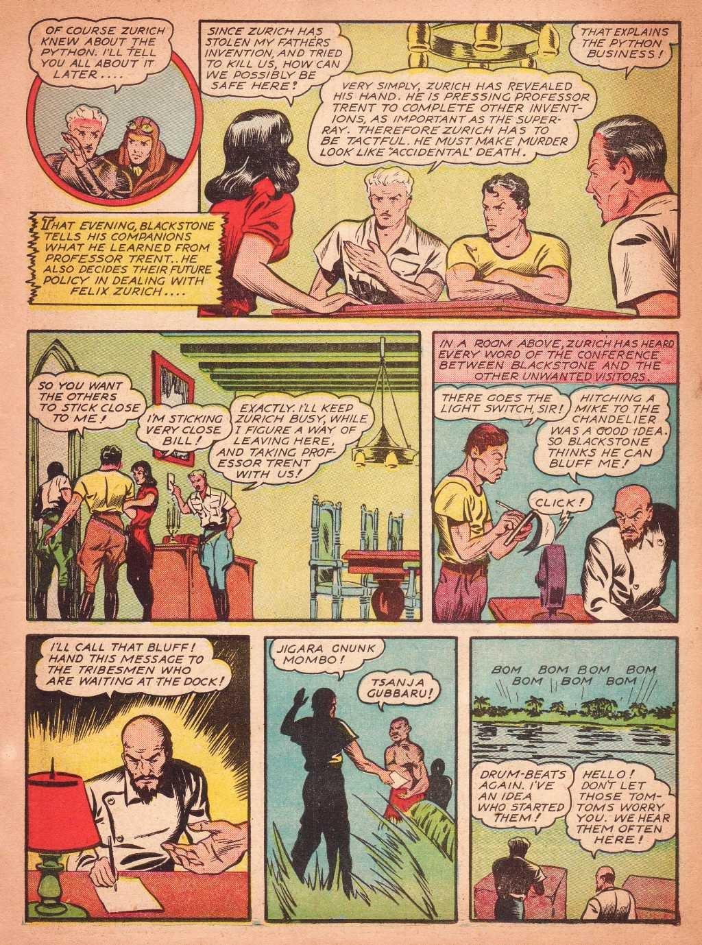 Read online Super-Magician Comics comic -  Issue #2 - 25