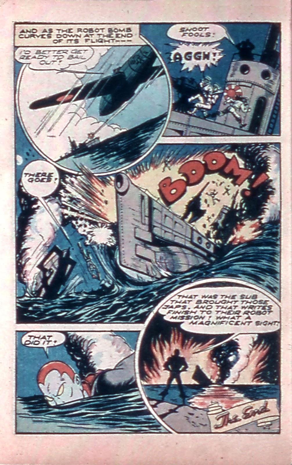 Read online Mystic Comics (1944) comic -  Issue #4 - 32
