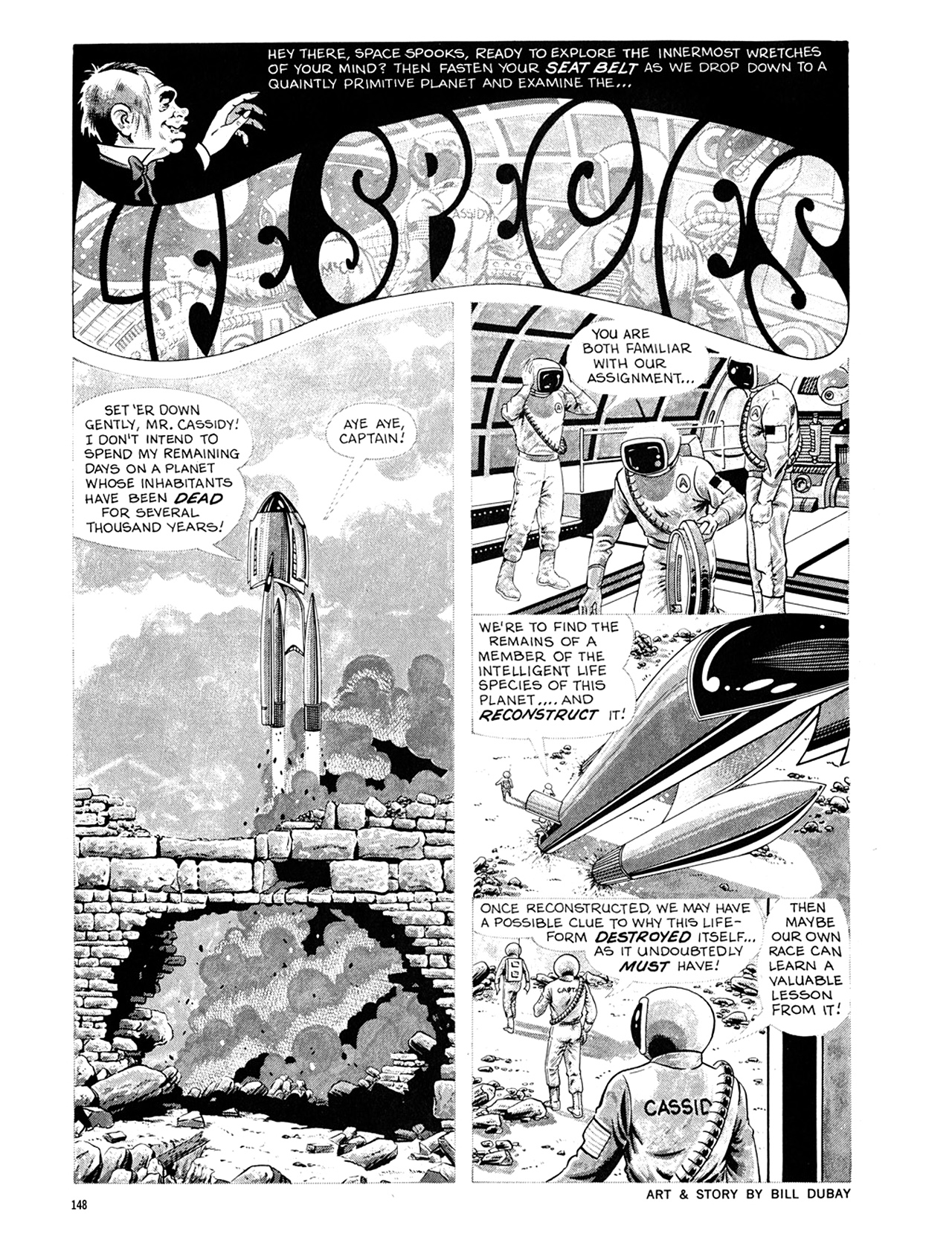 Read online Eerie Archives comic -  Issue # TPB 6 - 148