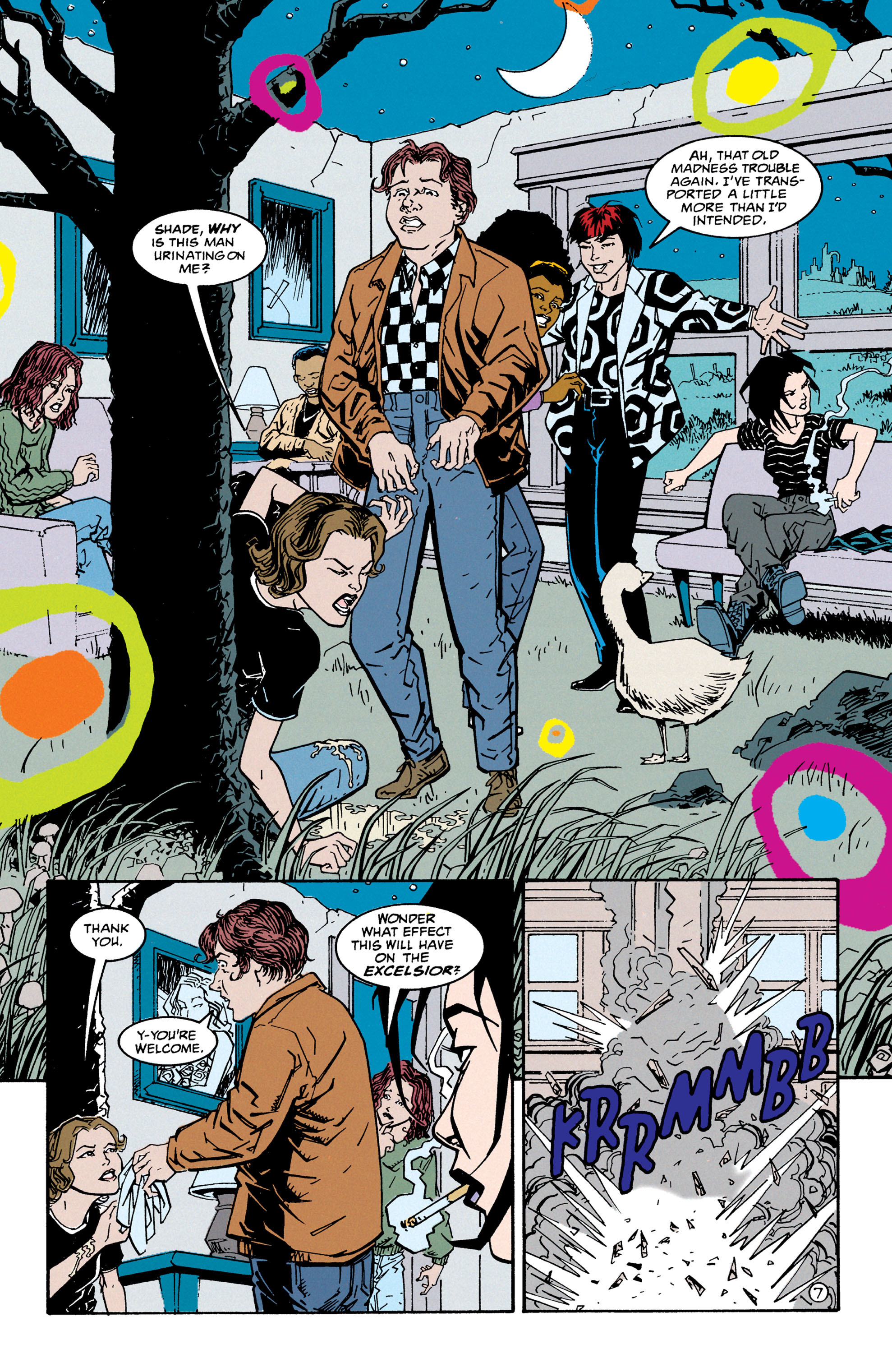 Read online Shade, the Changing Man comic -  Issue #67 - 8