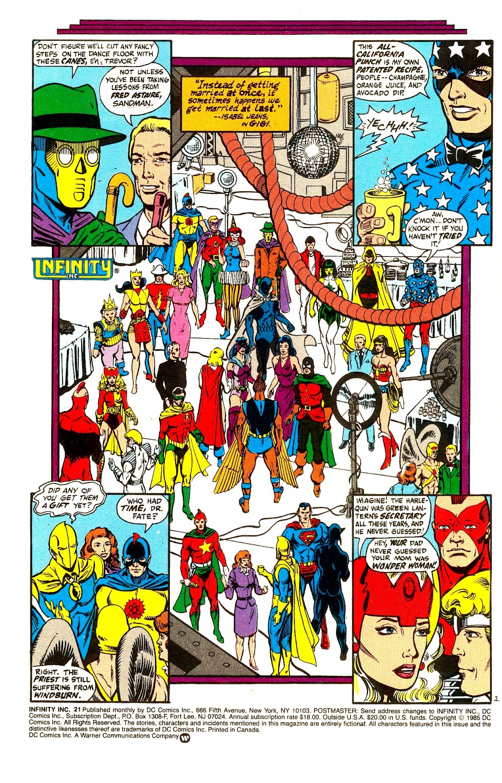 Infinity Inc. (1984) issue 21 - Page 4