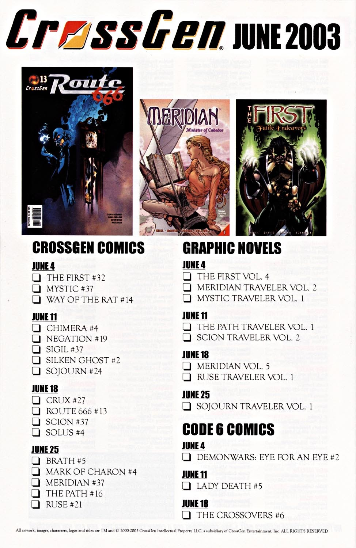 Read online Silken Ghost comic -  Issue #2 - 25
