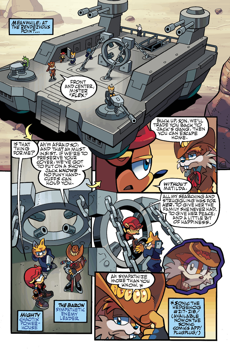 Read online Sonic Universe comic -  Issue #49 - 5