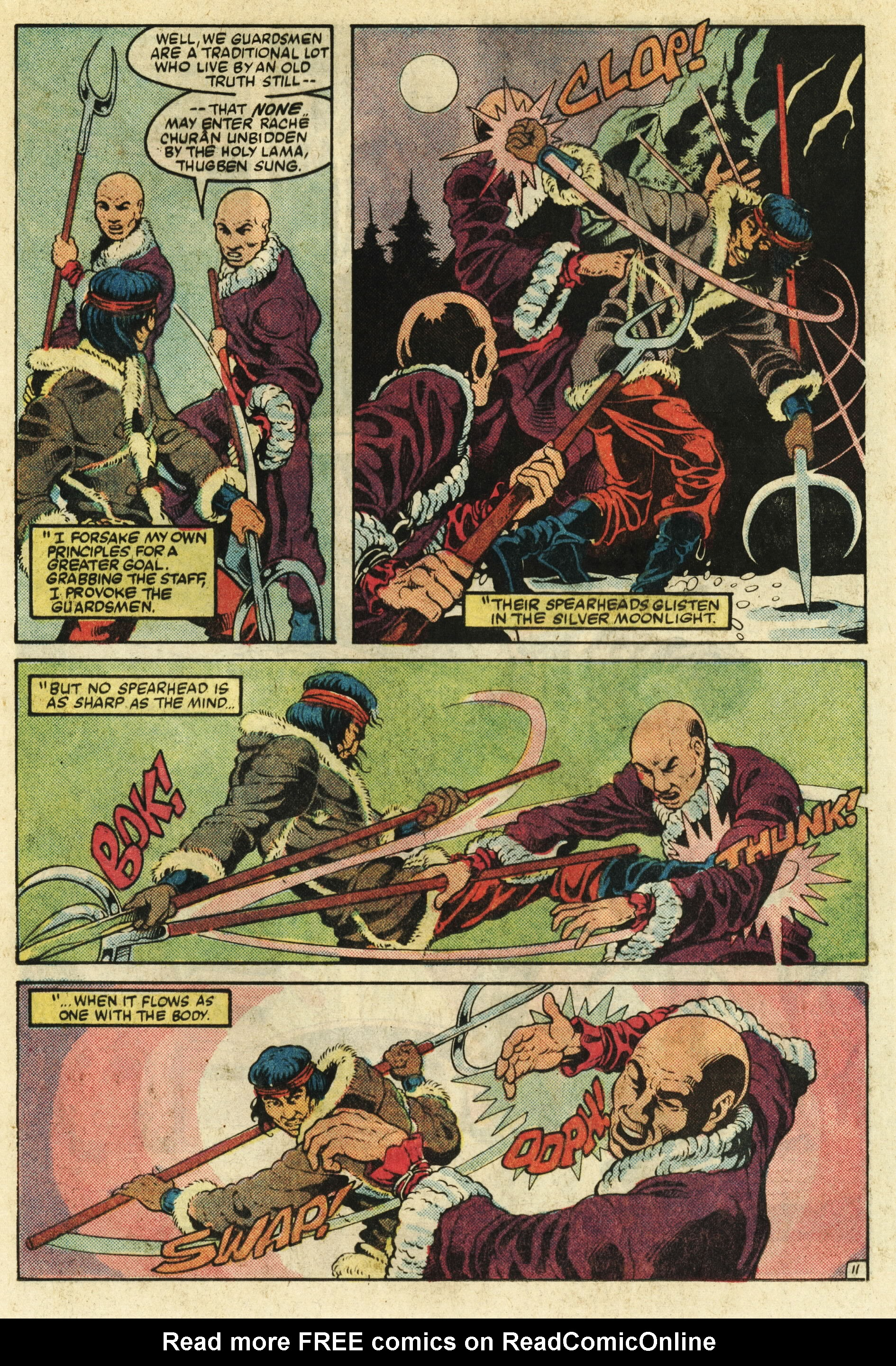 Read online Master of Kung Fu (1974) comic -  Issue #124 - 12