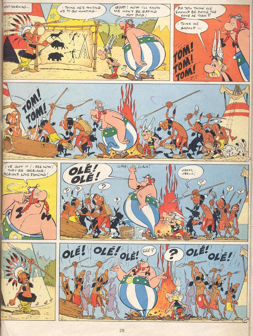 Read online Asterix comic -  Issue #22 - 26