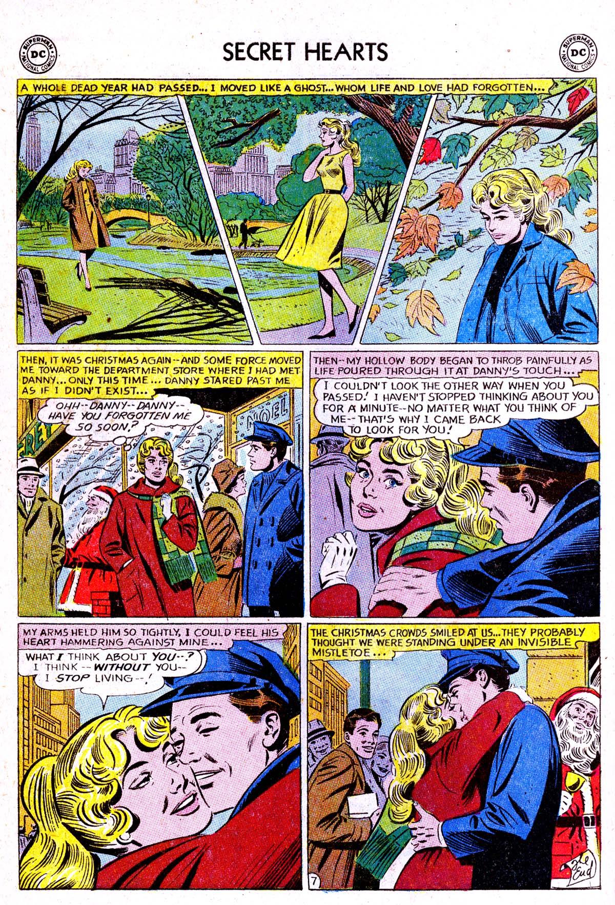 Read online Secret Hearts comic -  Issue #85 - 24