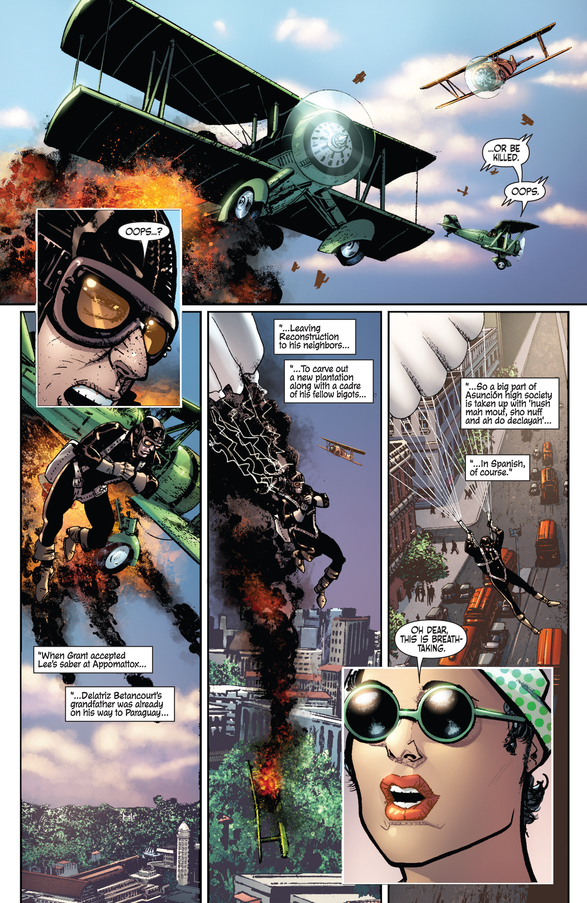 Read online Dominic Fortune comic -  Issue #1 - 4