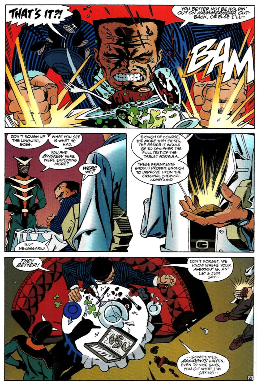 Read online Spider-Man: Lifeline comic -  Issue #1 - 22