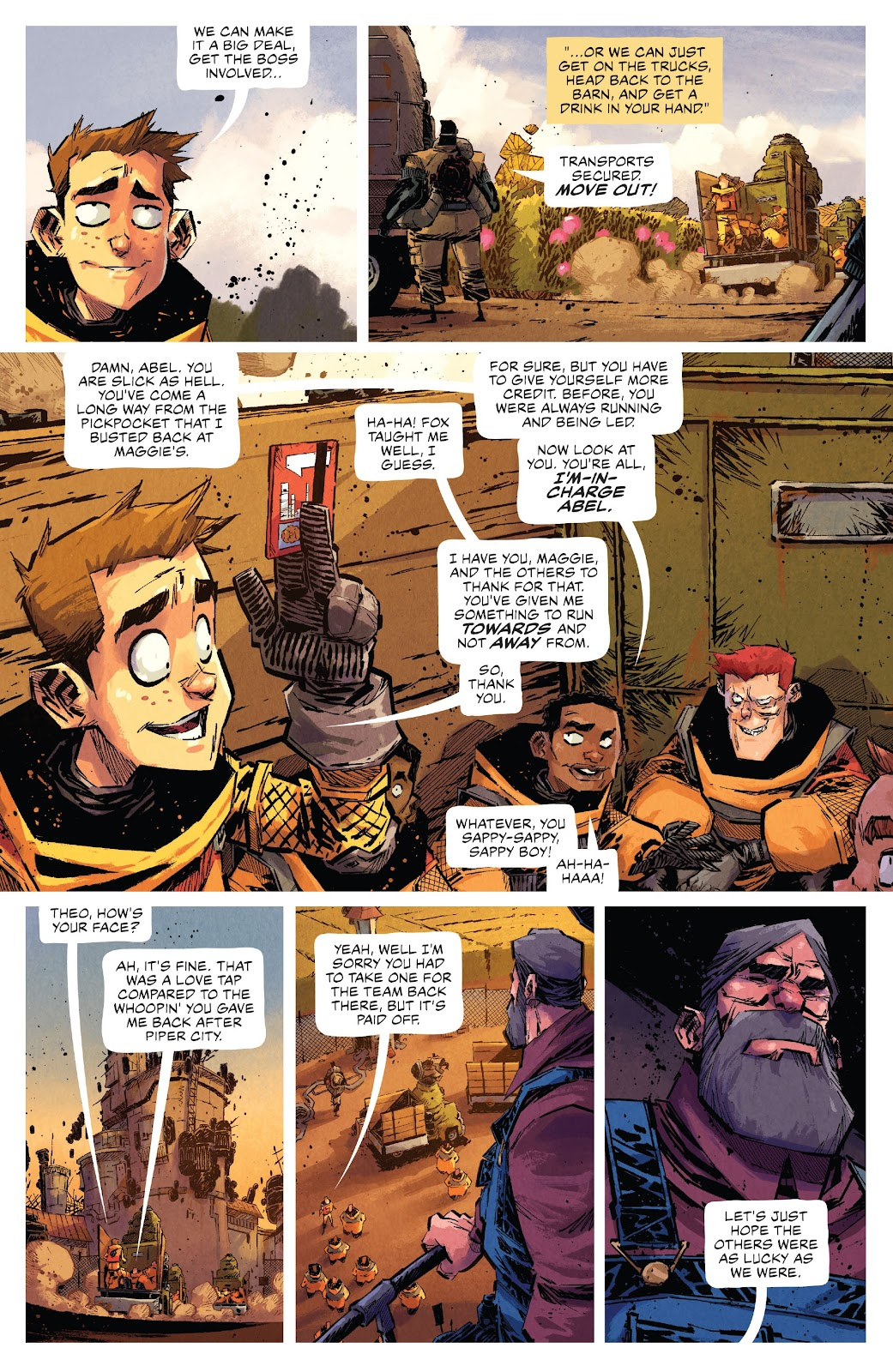 Read online Middlewest comic -  Issue #15 - 19