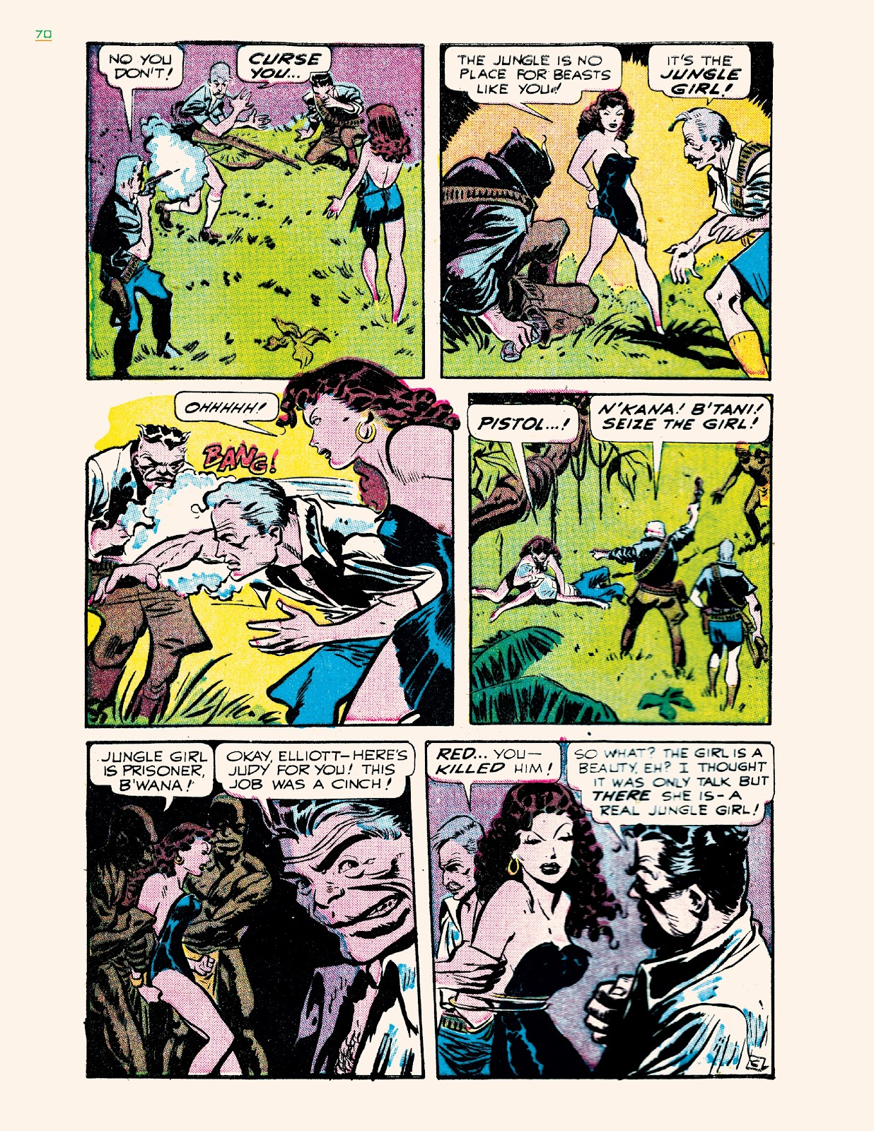 Read online Jungle Girls comic -  Issue # TPB (Part 1) - 70
