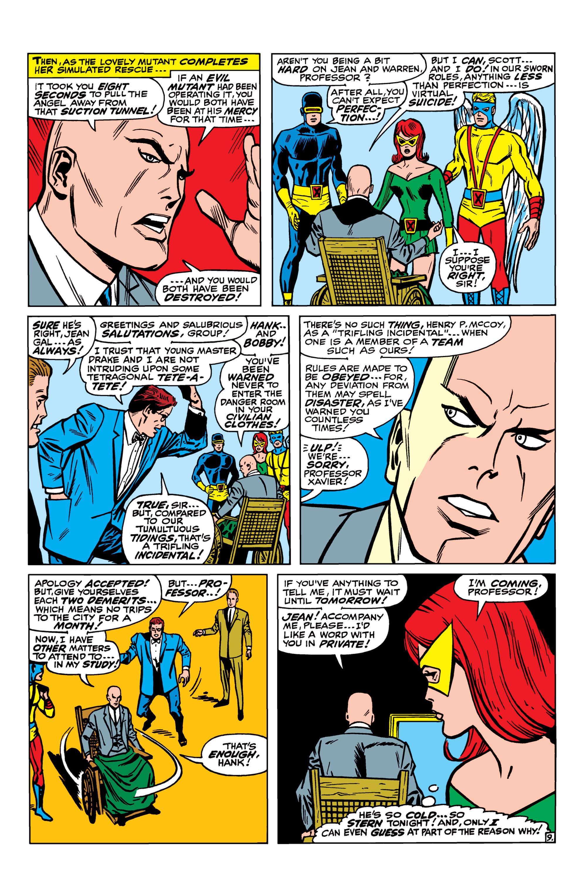 Read online Uncanny X-Men (1963) comic -  Issue #41 - 10