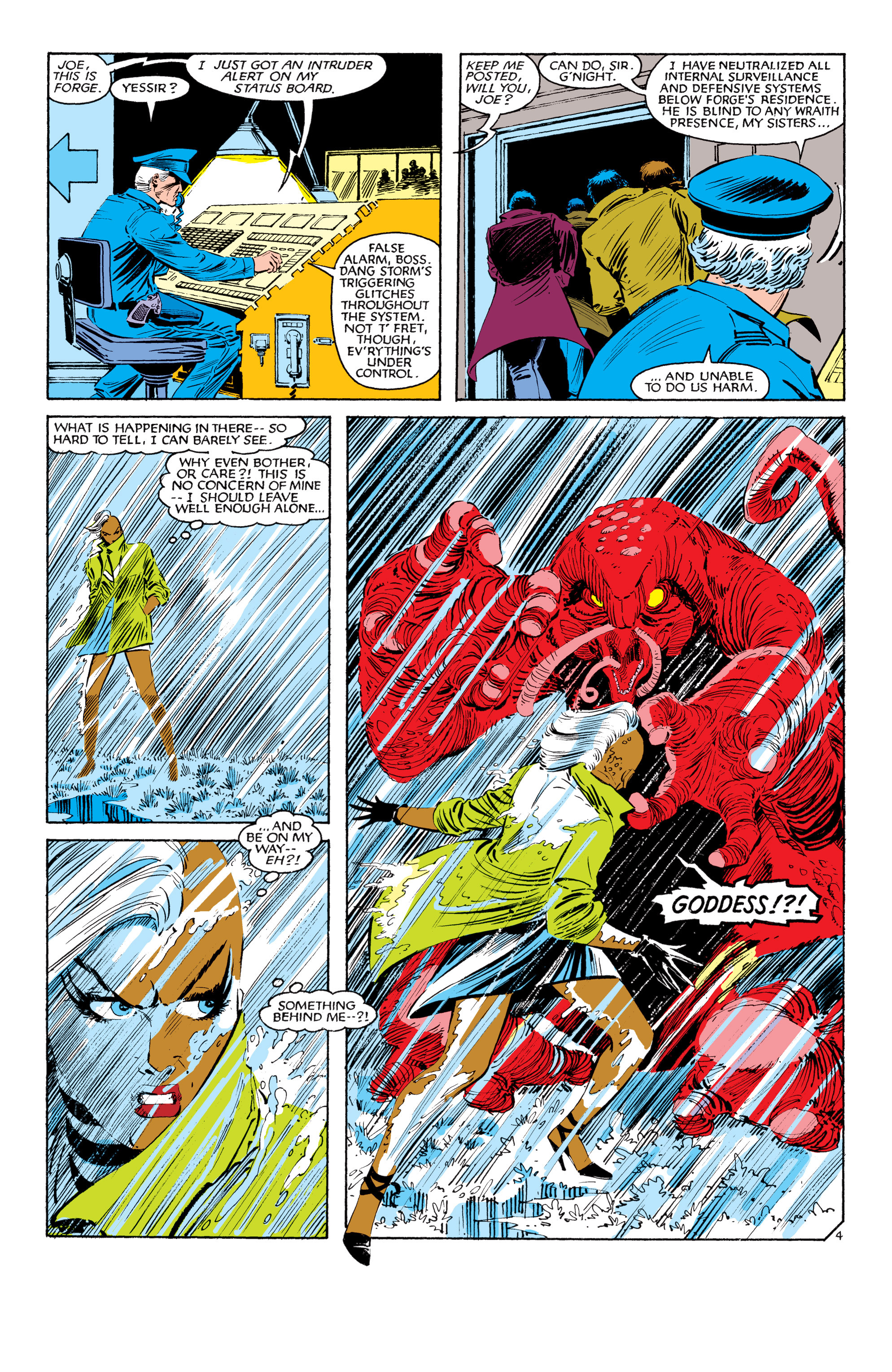 Read online Uncanny X-Men (1963) comic -  Issue #187 - 5