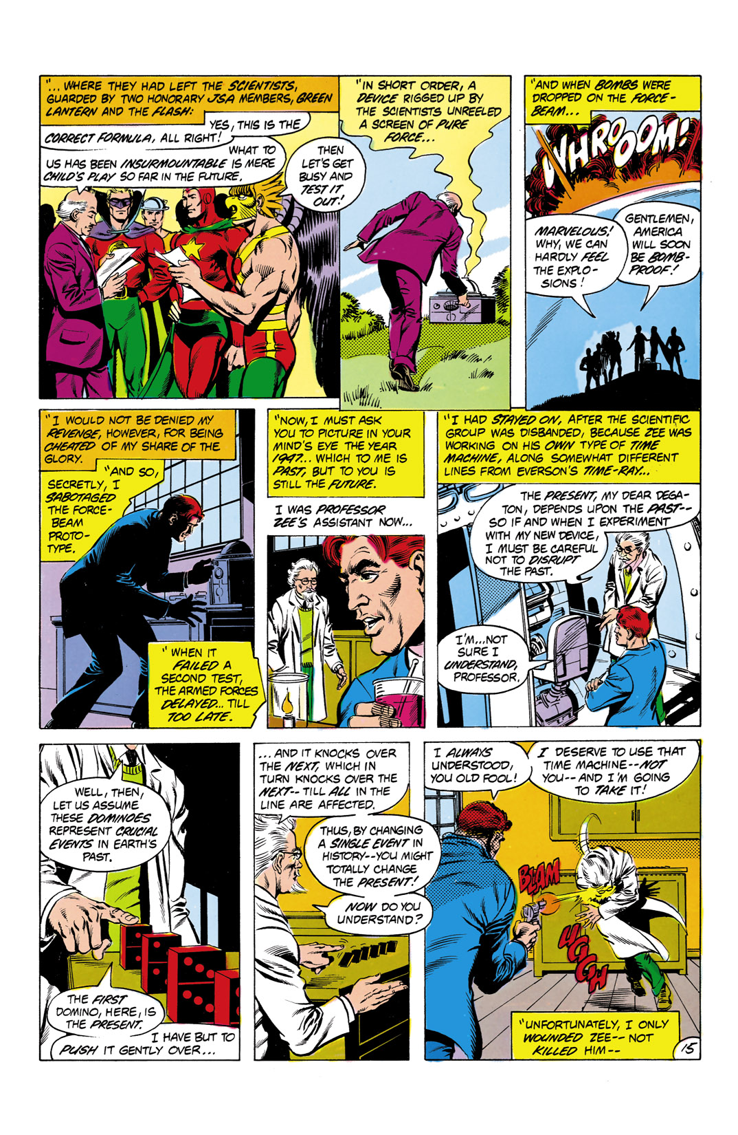 Read online All-Star Squadron comic -  Issue #2 - 16