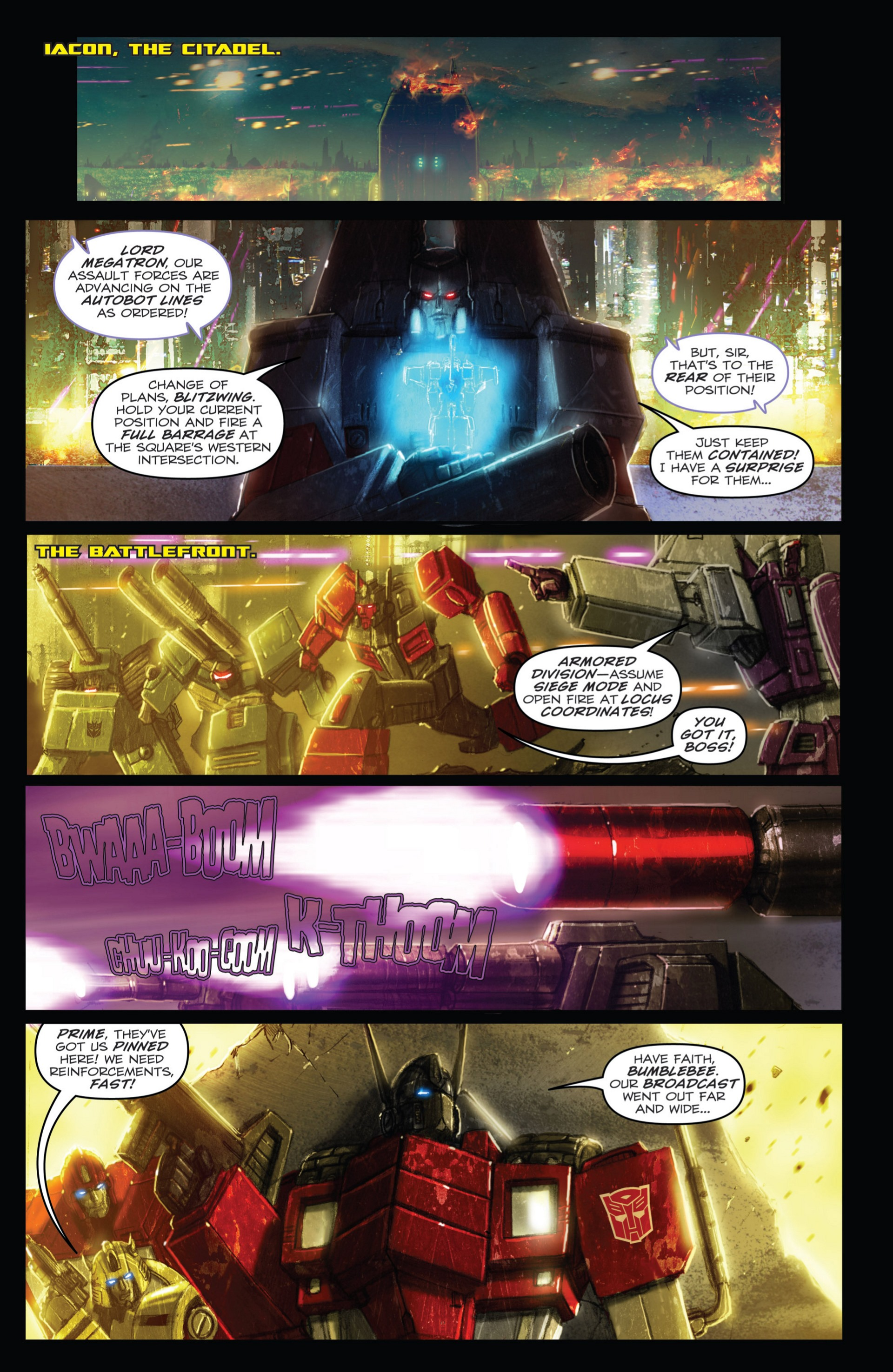 Read online Transformers: Autocracy comic -  Issue # Full - 107