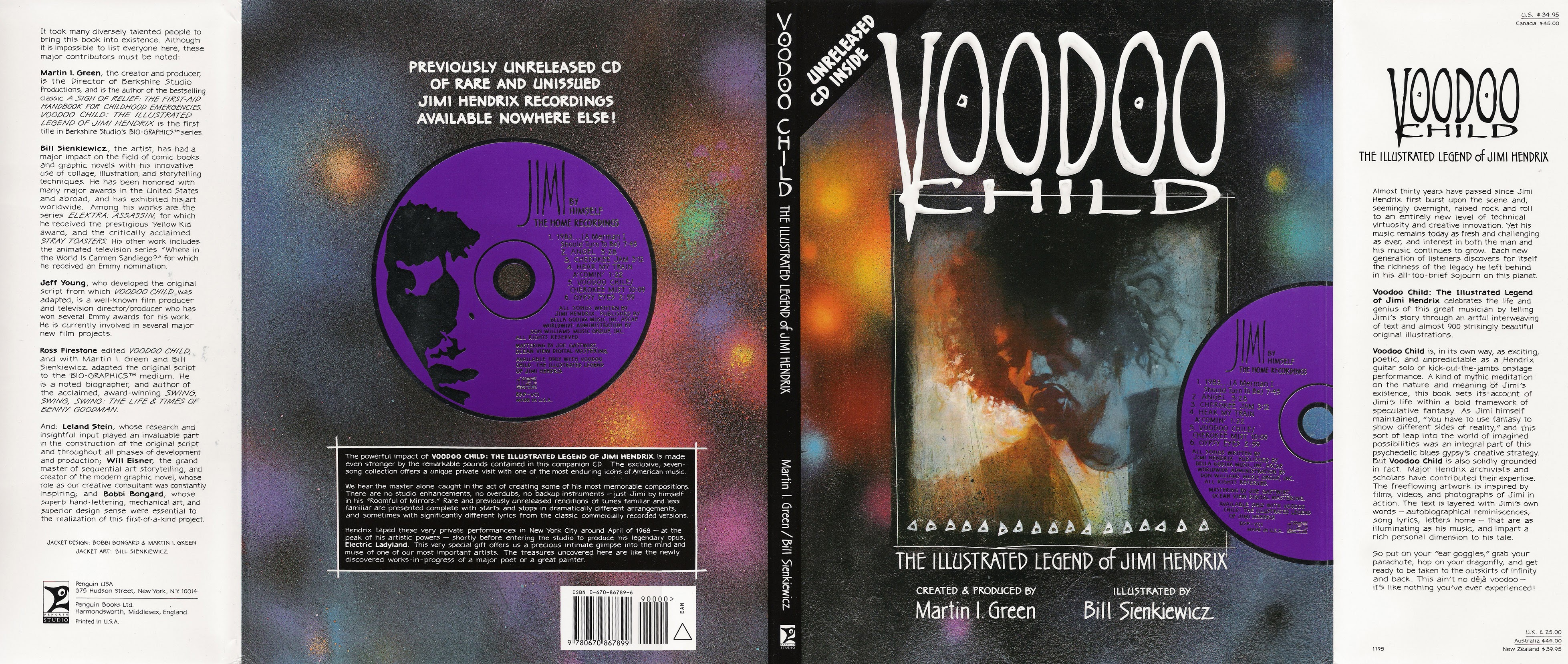 Voodoo Child - The Illustrated Legend of Jimi Hendrix TPB Page 1