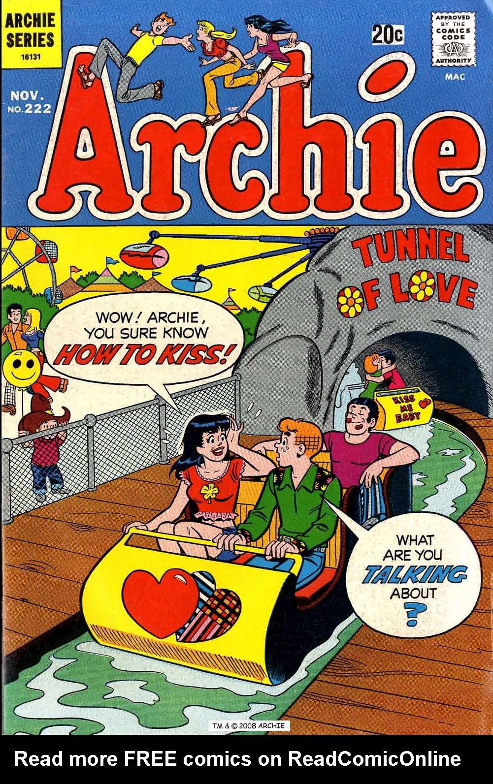 Read online Archie (1960) comic -  Issue #222 - 1