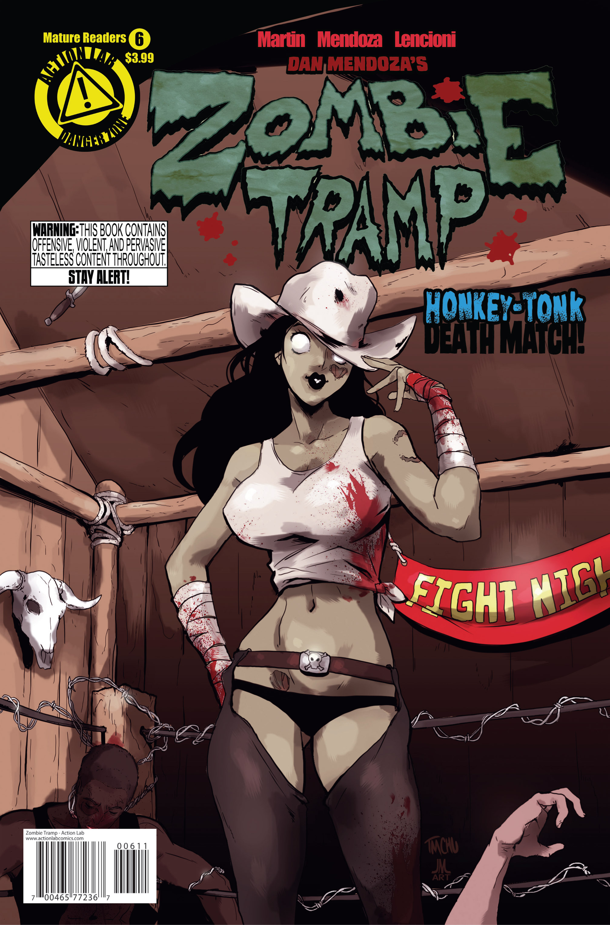 Zombie Tramp (2014) 6 Page 1