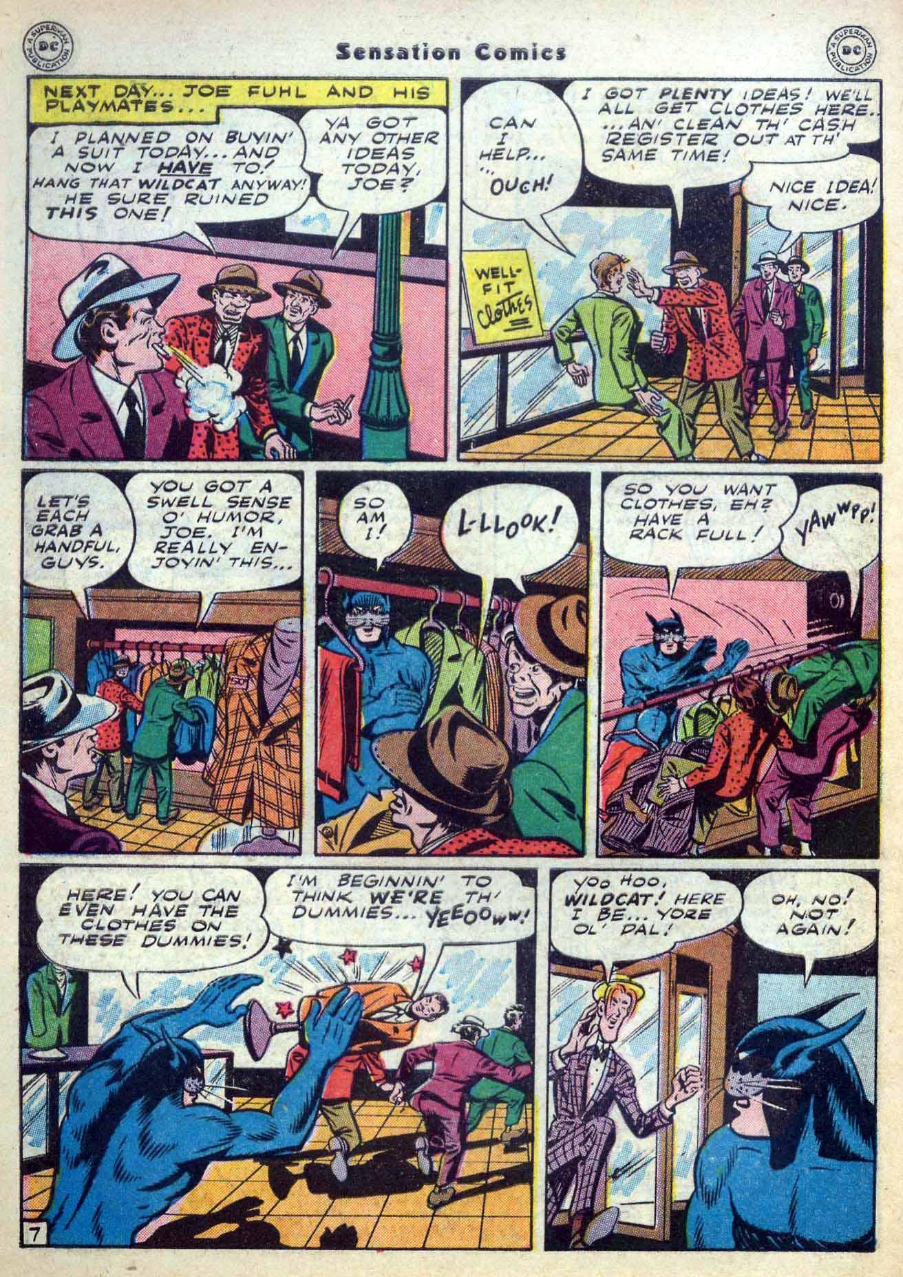 Read online Sensation (Mystery) Comics comic -  Issue #59 - 48