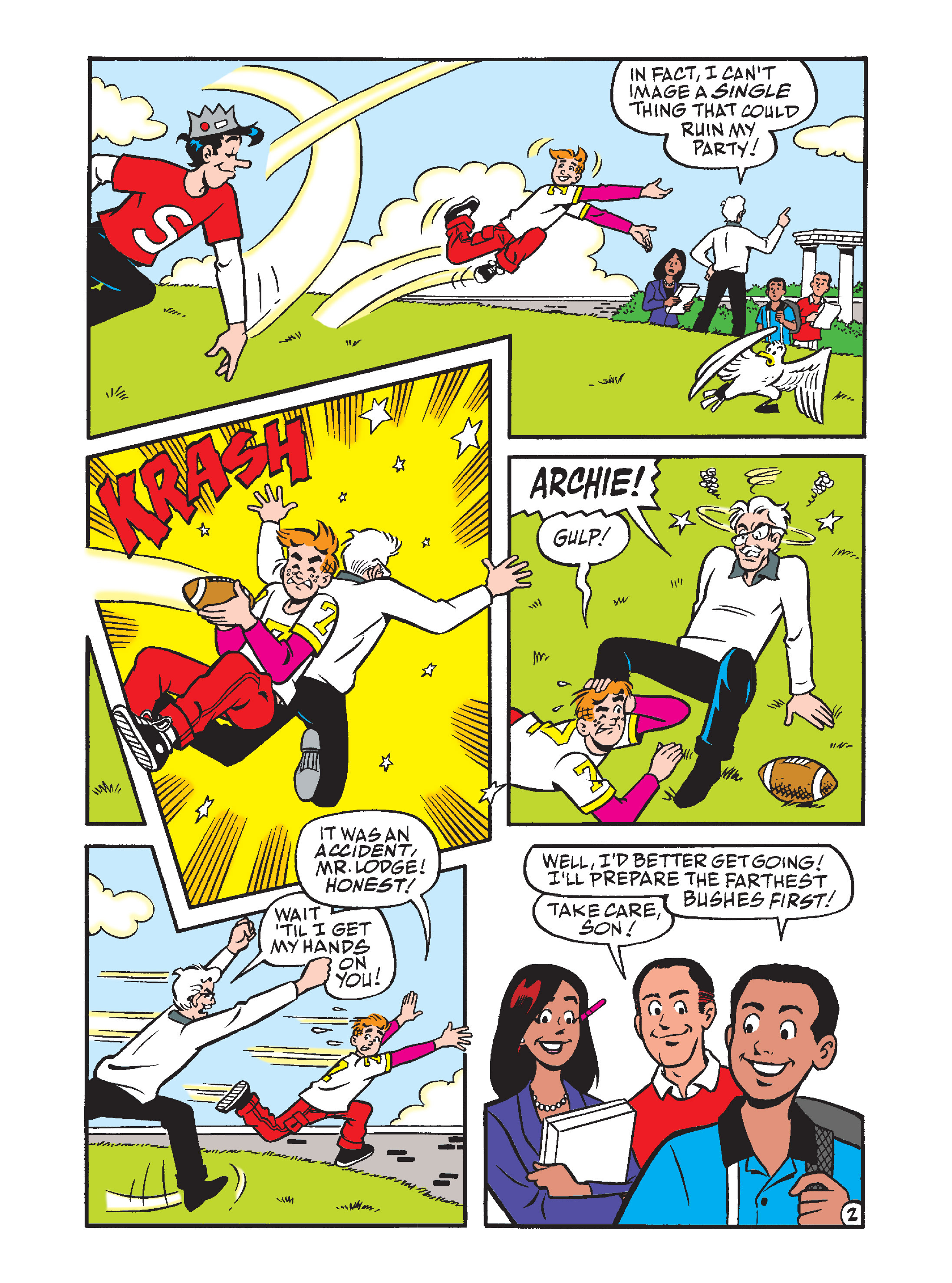 Read online Archie's Funhouse Double Digest comic -  Issue #7 - 81