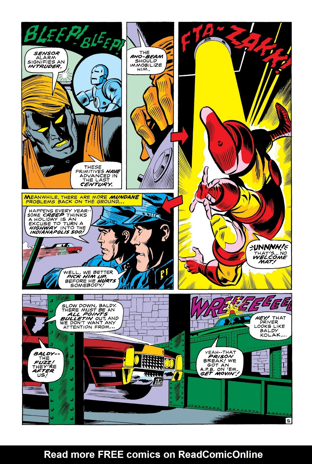 Read online Marvel Masterworks: The Invincible Iron Man comic -  Issue # TPB 7 (Part 2) - 34