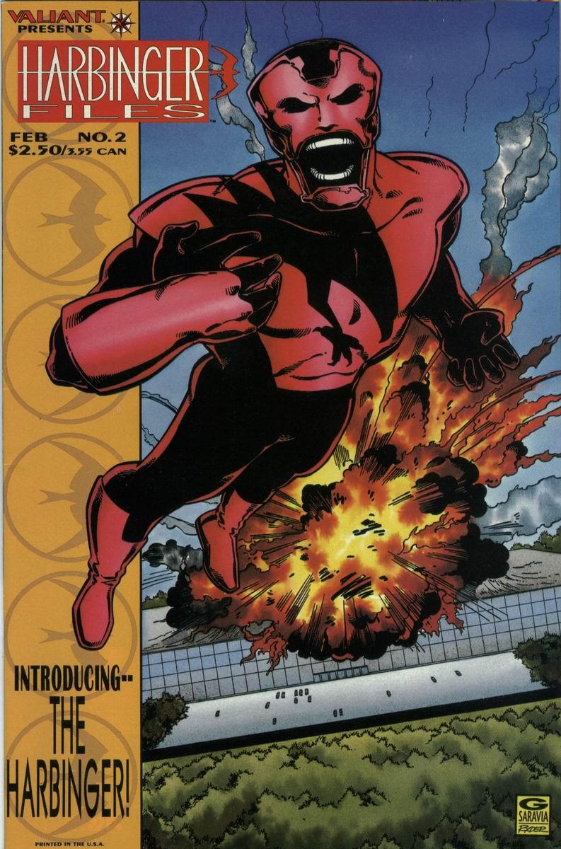 Read online Harbinger Files comic -  Issue #2 - 1
