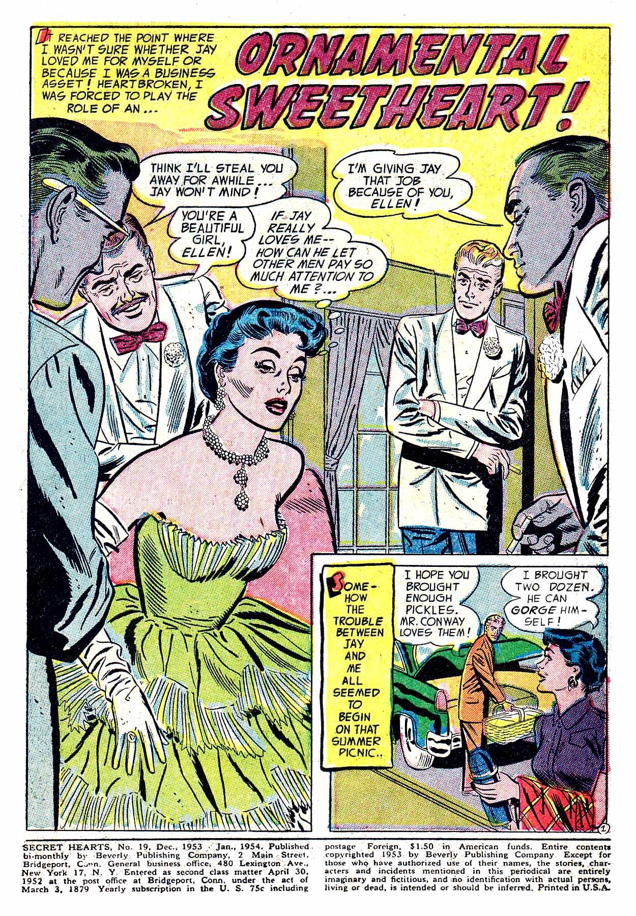 Read online Secret Hearts comic -  Issue #19 - 3