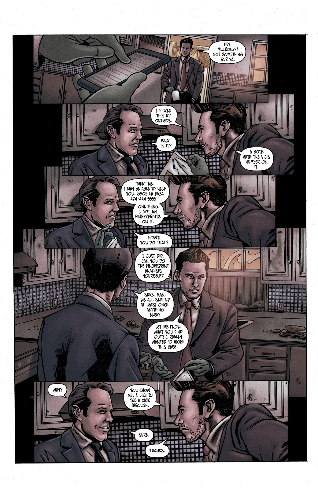 Read online Vindication comic -  Issue #1 - 18