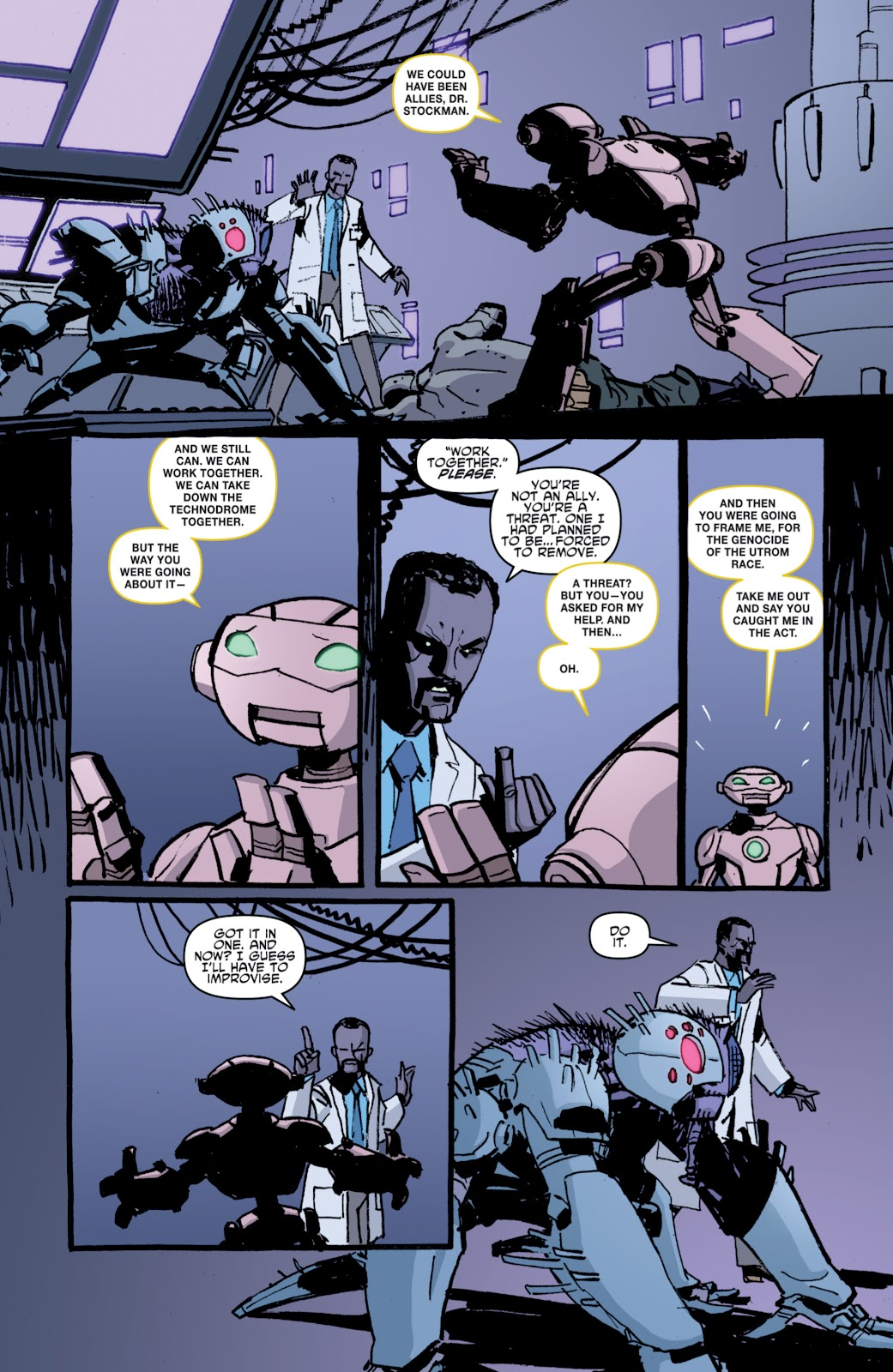 Read online Teenage Mutant Ninja Turtles: The IDW Collection comic -  Issue # TPB 4 (Part 1) - 87