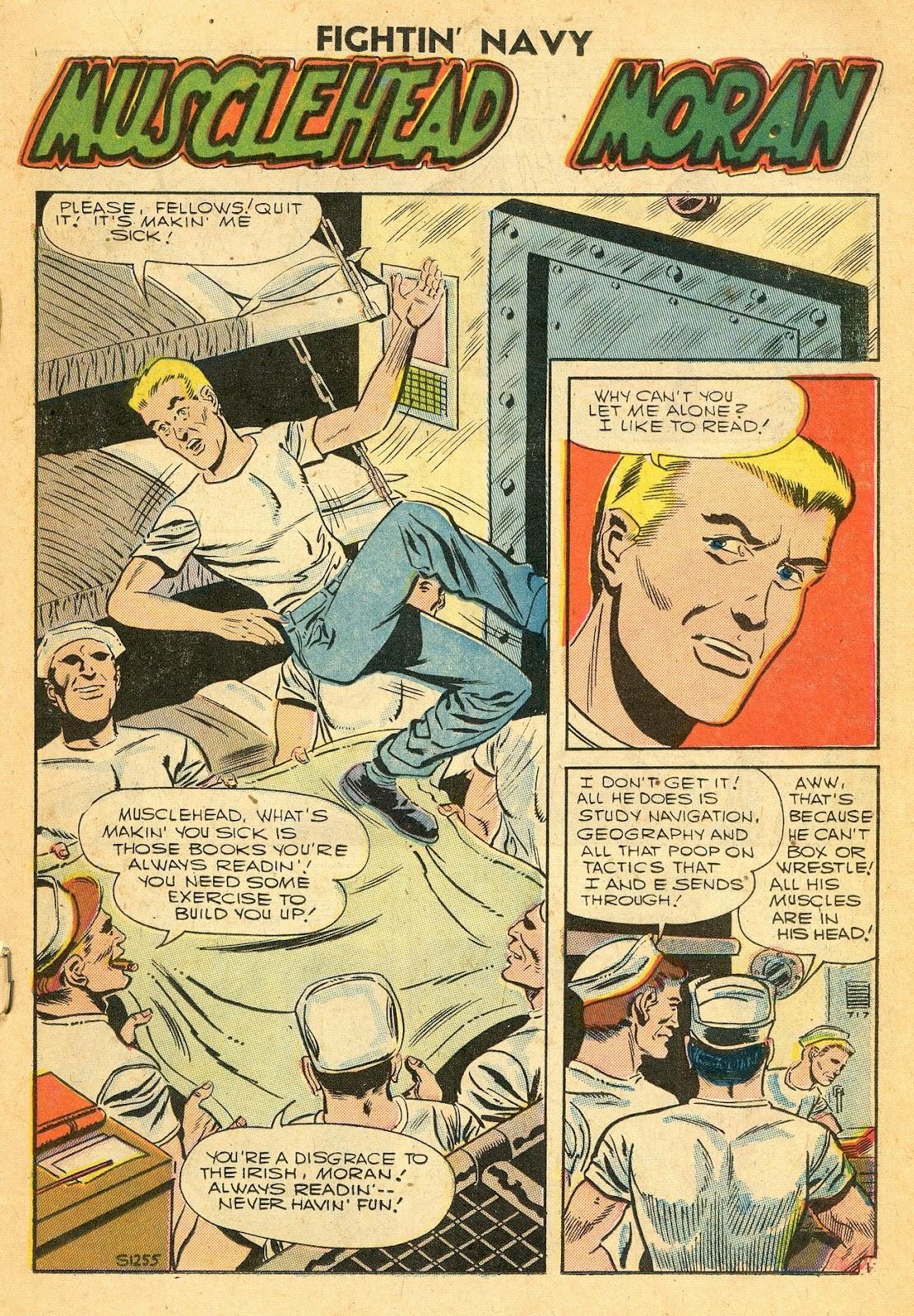 Read online Fightin' Navy comic -  Issue #77 - 19