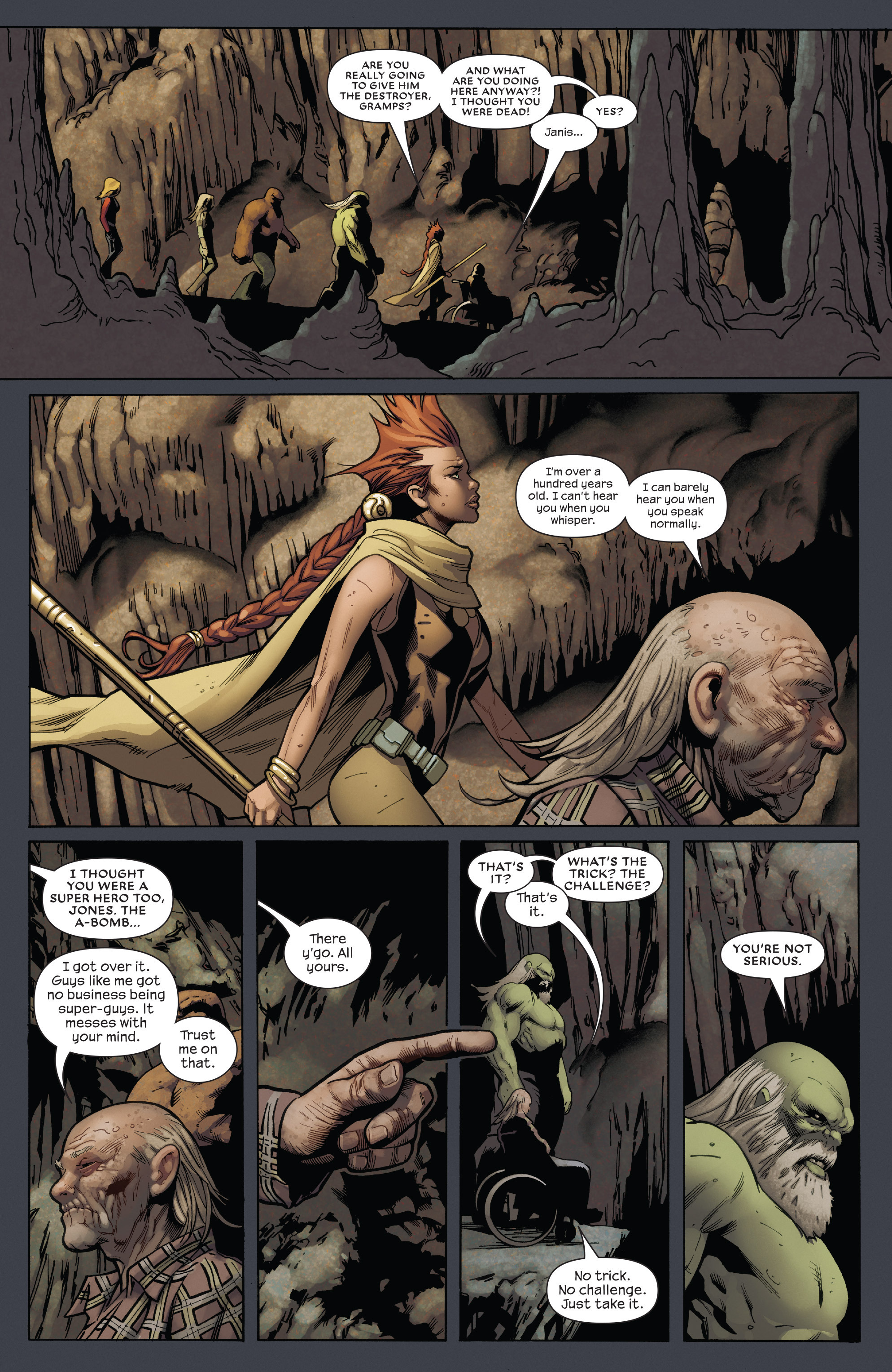 Read online Future Imperfect comic -  Issue #5 - 5