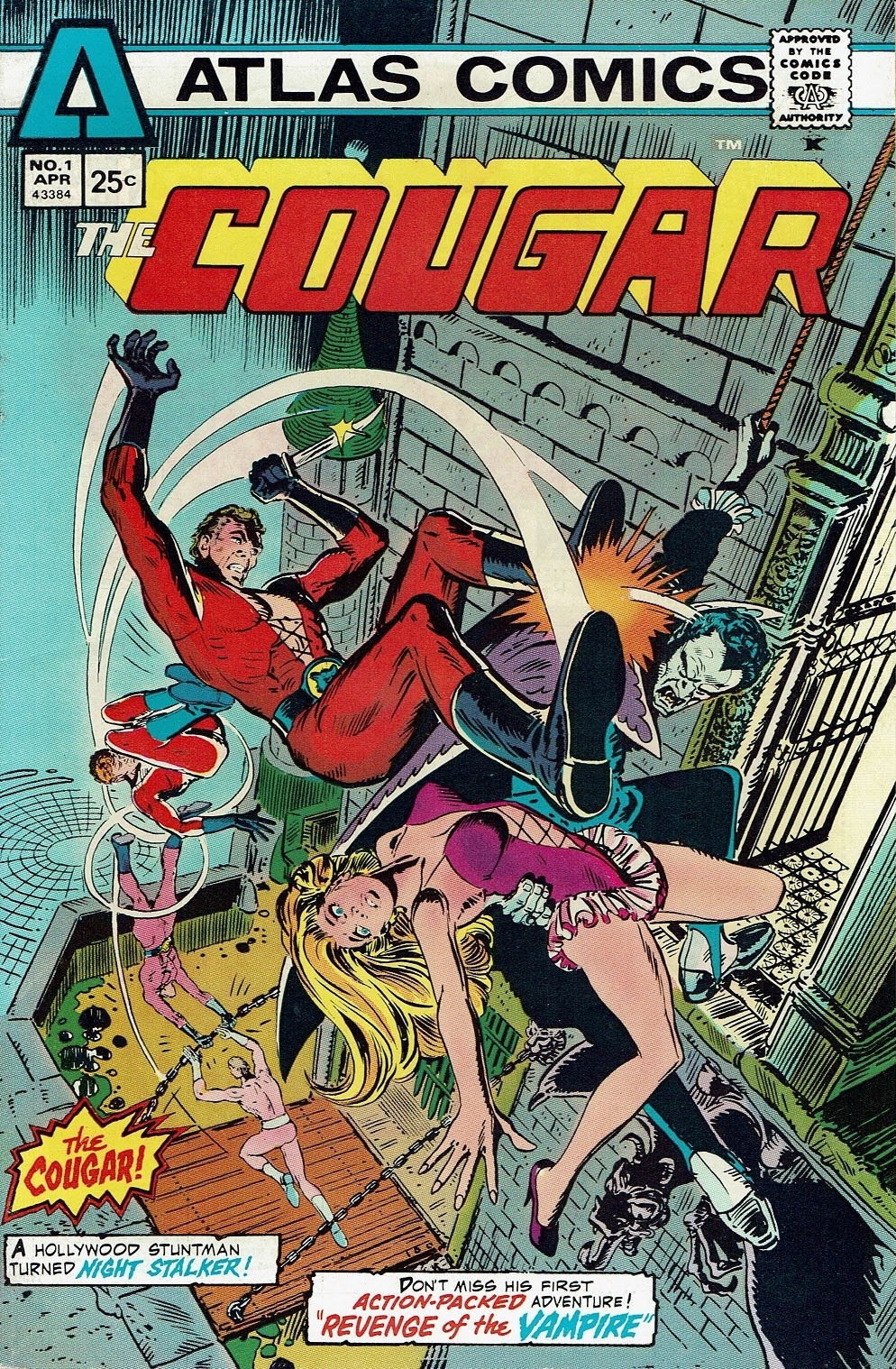 The Cougar issue 1 - Page 1