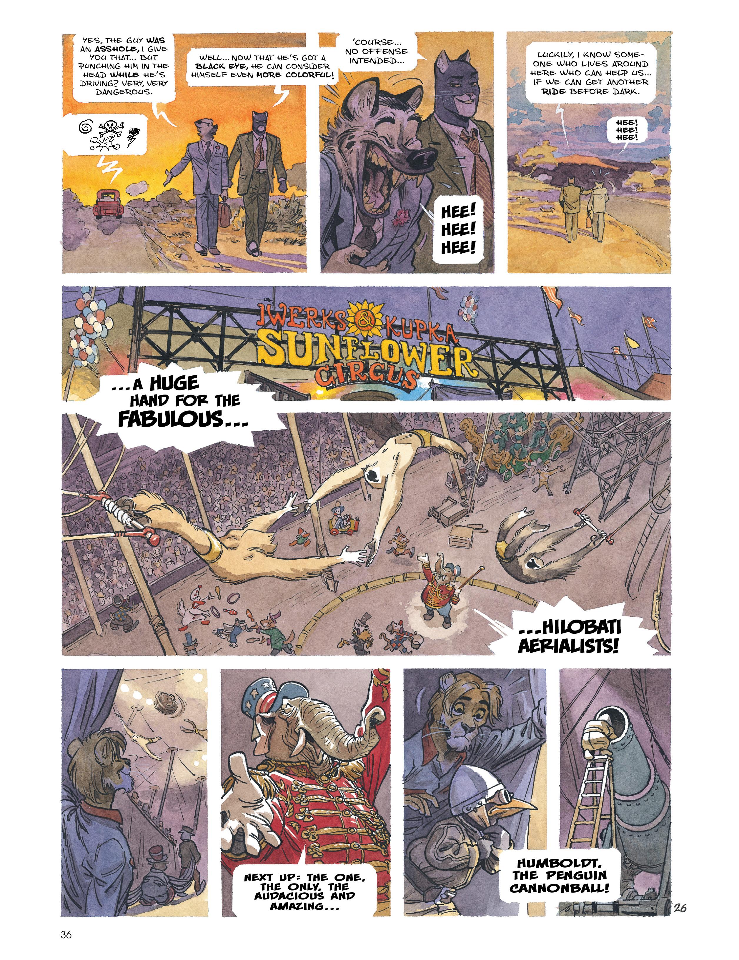 Read online Blacksad: Amarillo comic -  Issue # Full - 35