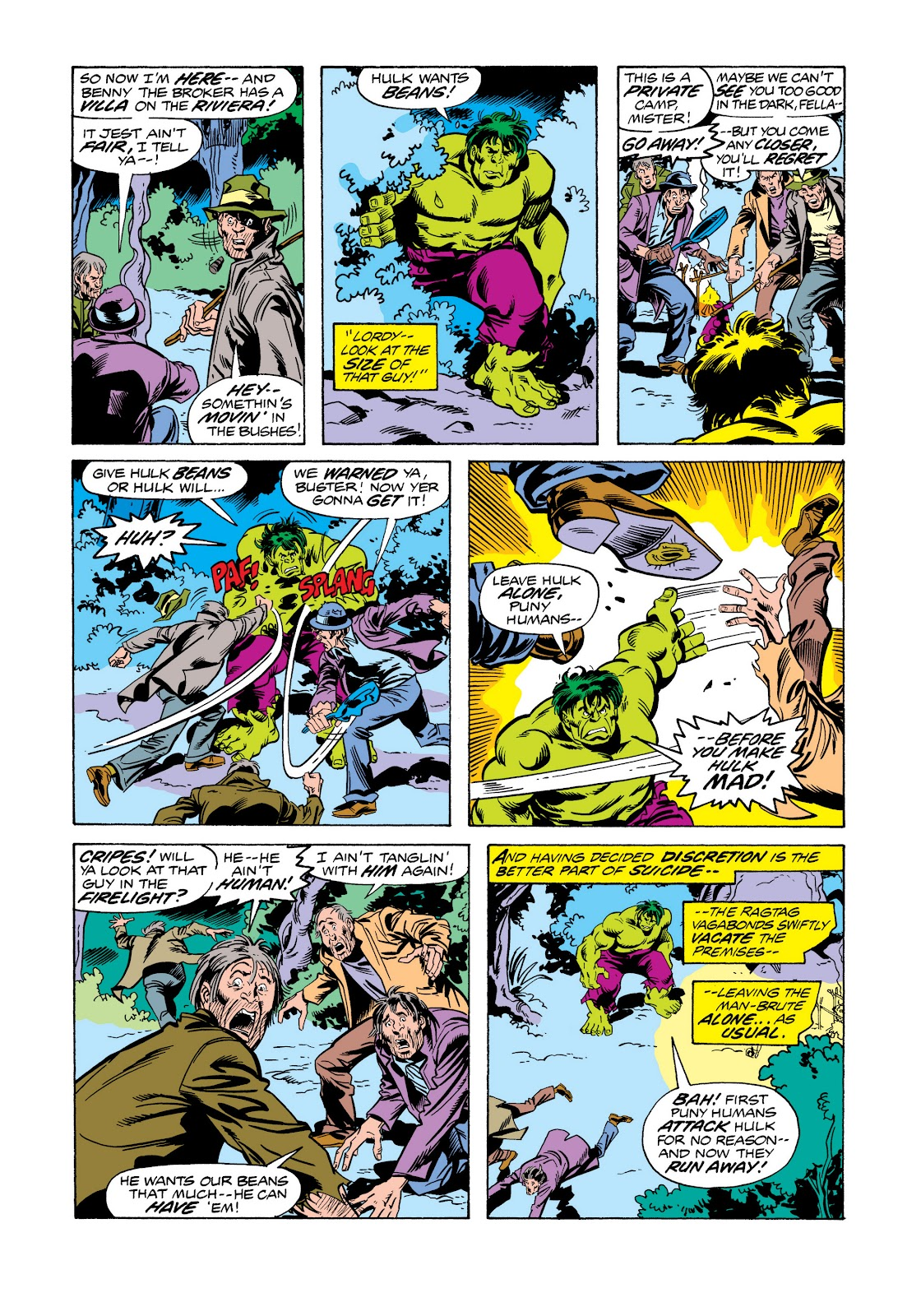 Read online Marvel Masterworks: The Incredible Hulk comic -  Issue # TPB 11 (Part 2) - 98