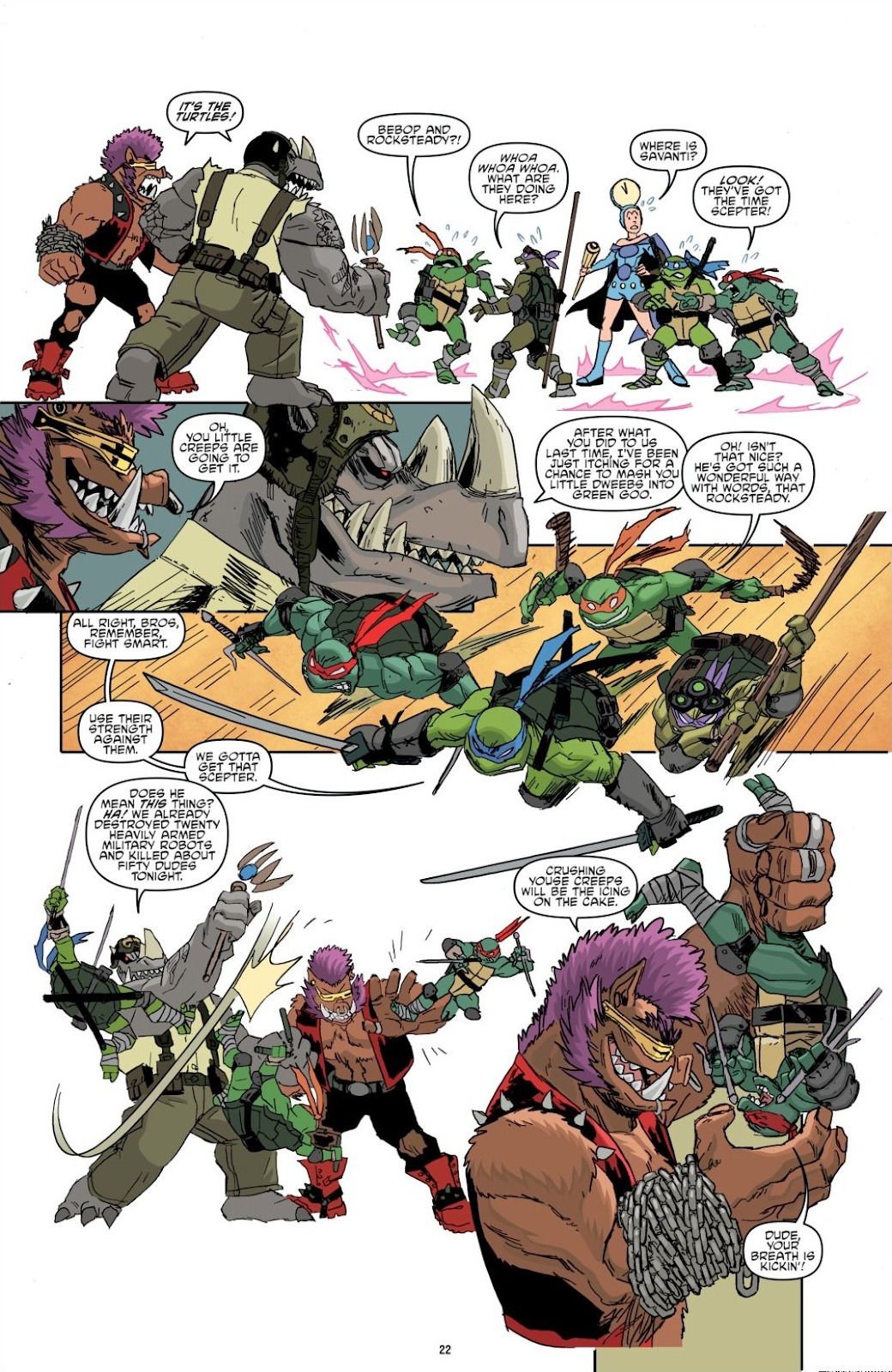 Read online Teenage Mutant Ninja Turtles: The IDW Collection comic -  Issue # TPB 8 (Part 1) - 22
