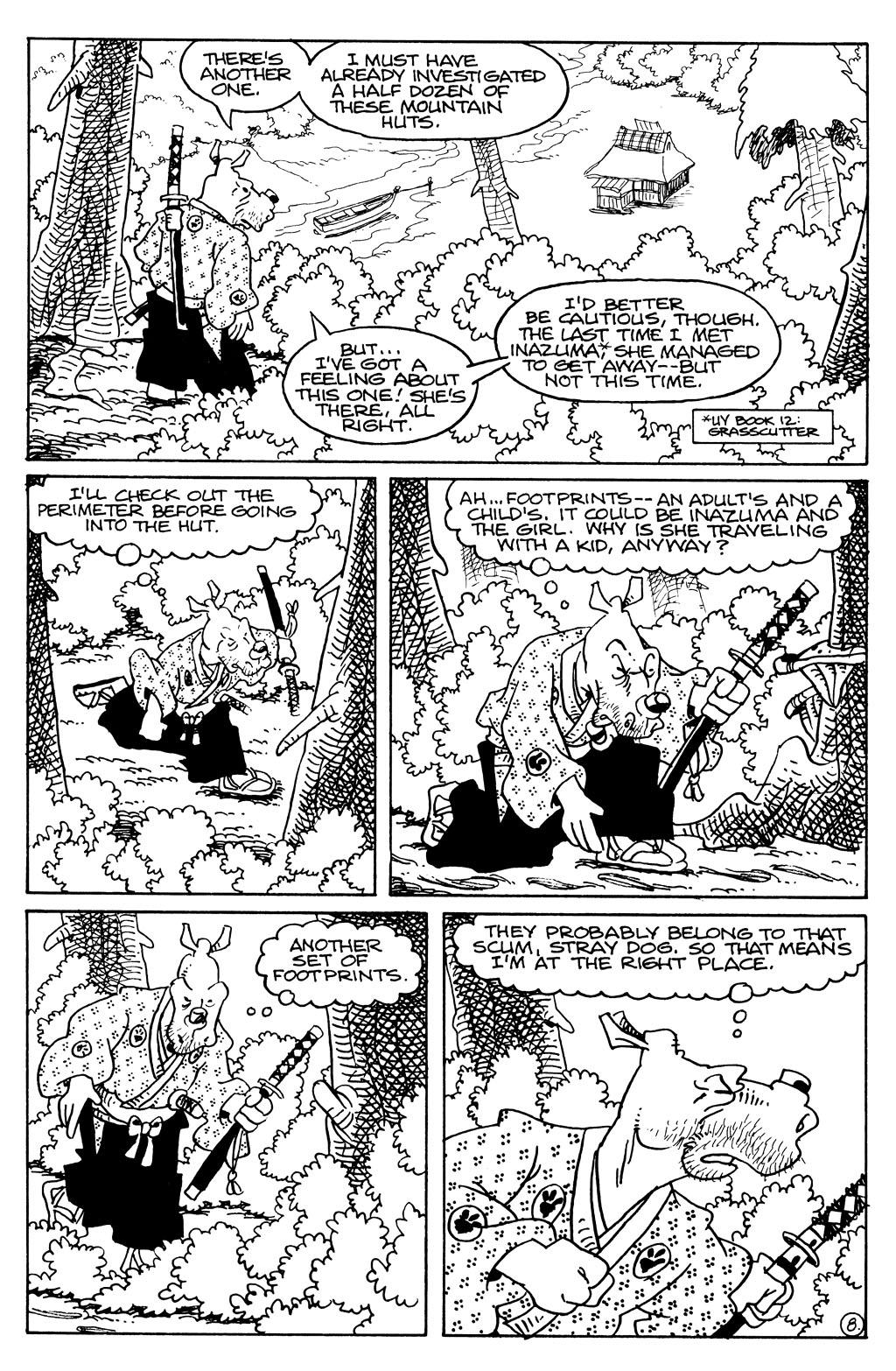 Usagi Yojimbo (1996) Issue #79 #79 - English 18