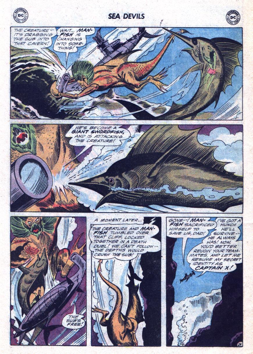 Read online Sea Devils comic -  Issue #24 - 33