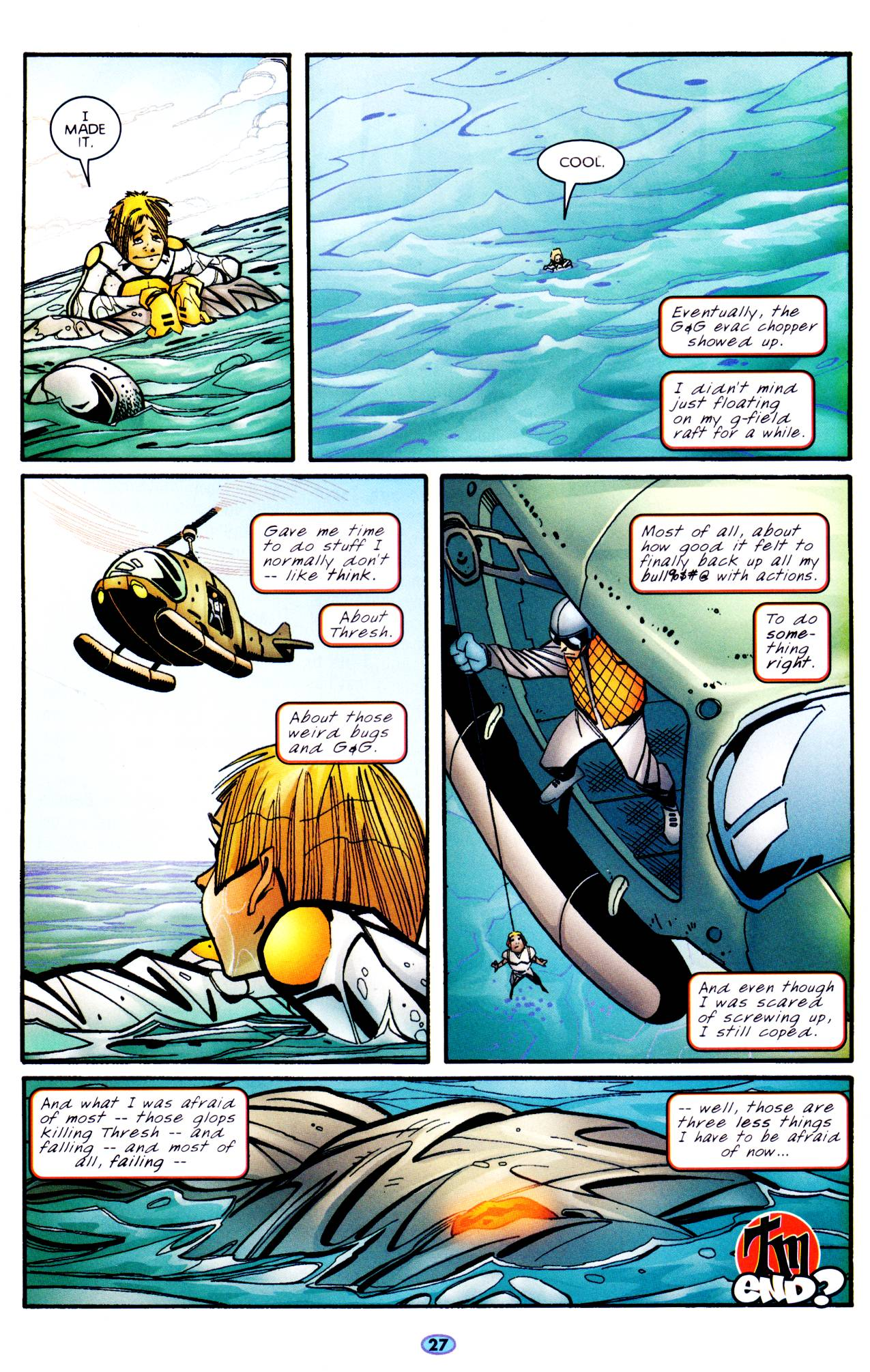 Read online Troublemakers comic -  Issue #6 - 23