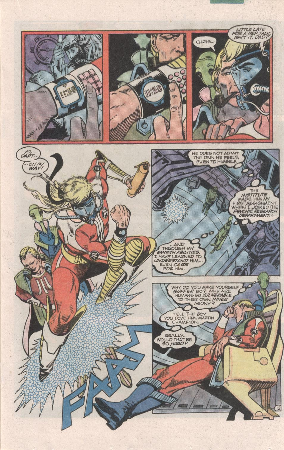Read online Atari Force (1984) comic -  Issue #6 - 14