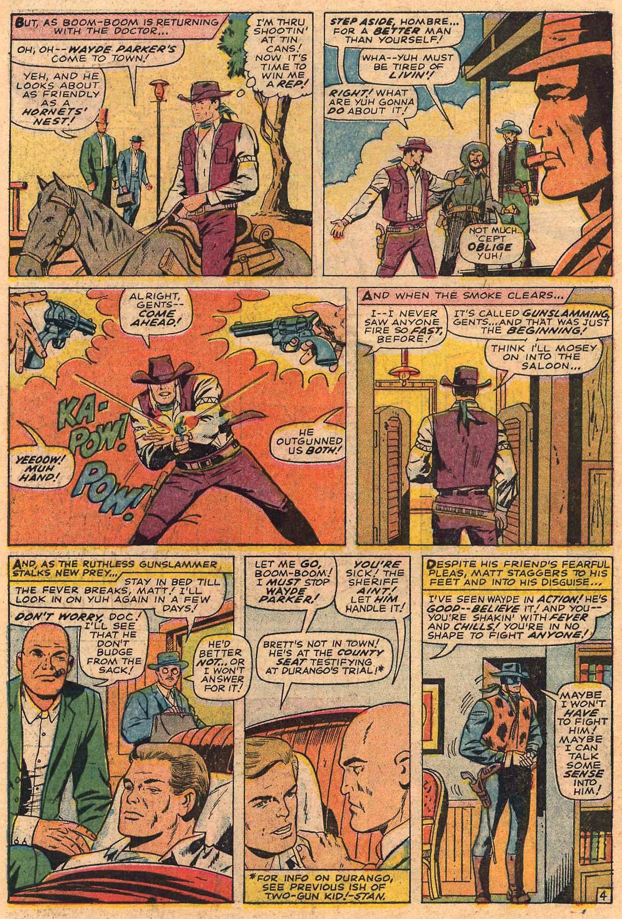 Read online Two-Gun Kid comic -  Issue #84 - 6