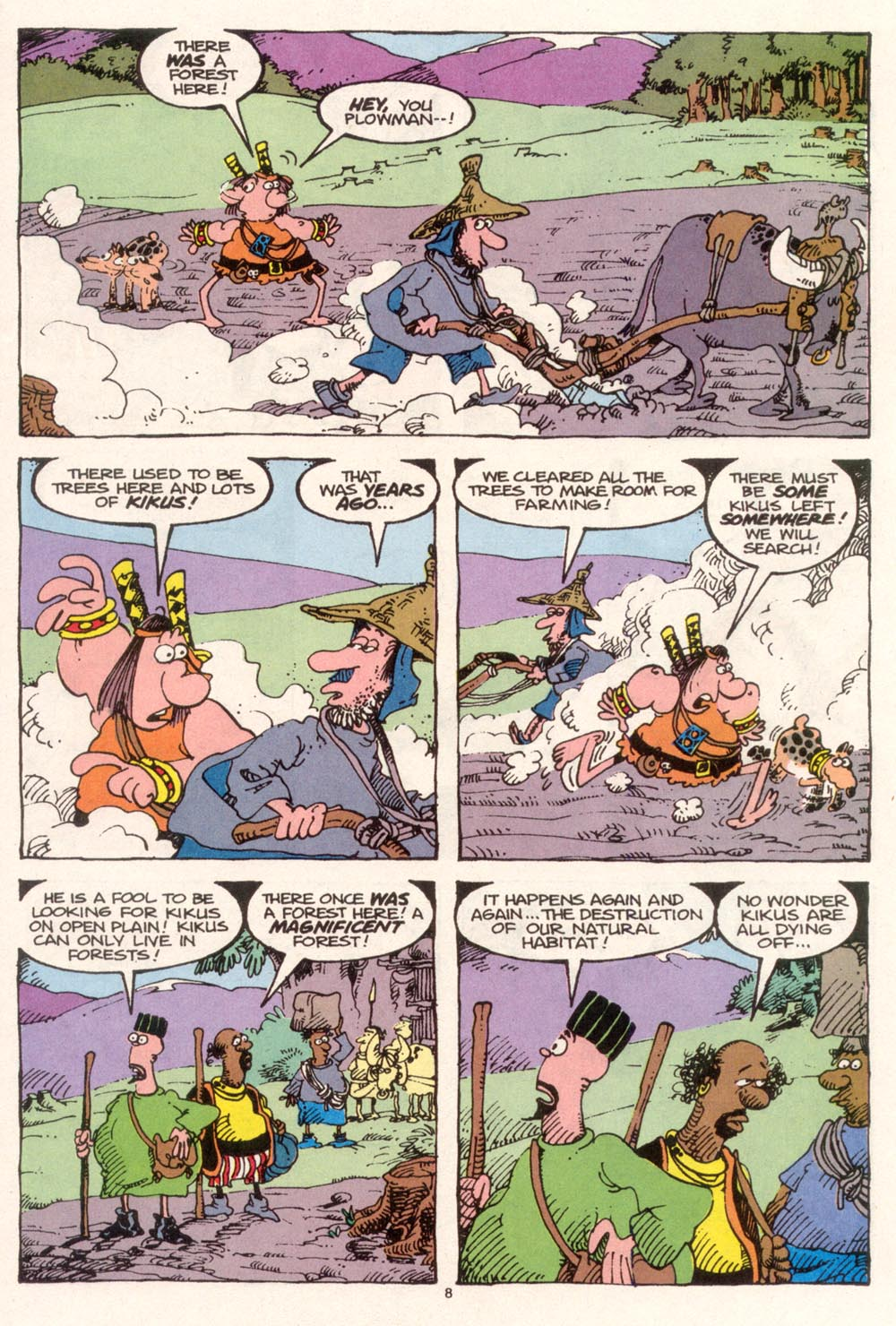 Read online Sergio Aragonés Groo the Wanderer comic -  Issue #95 - 9