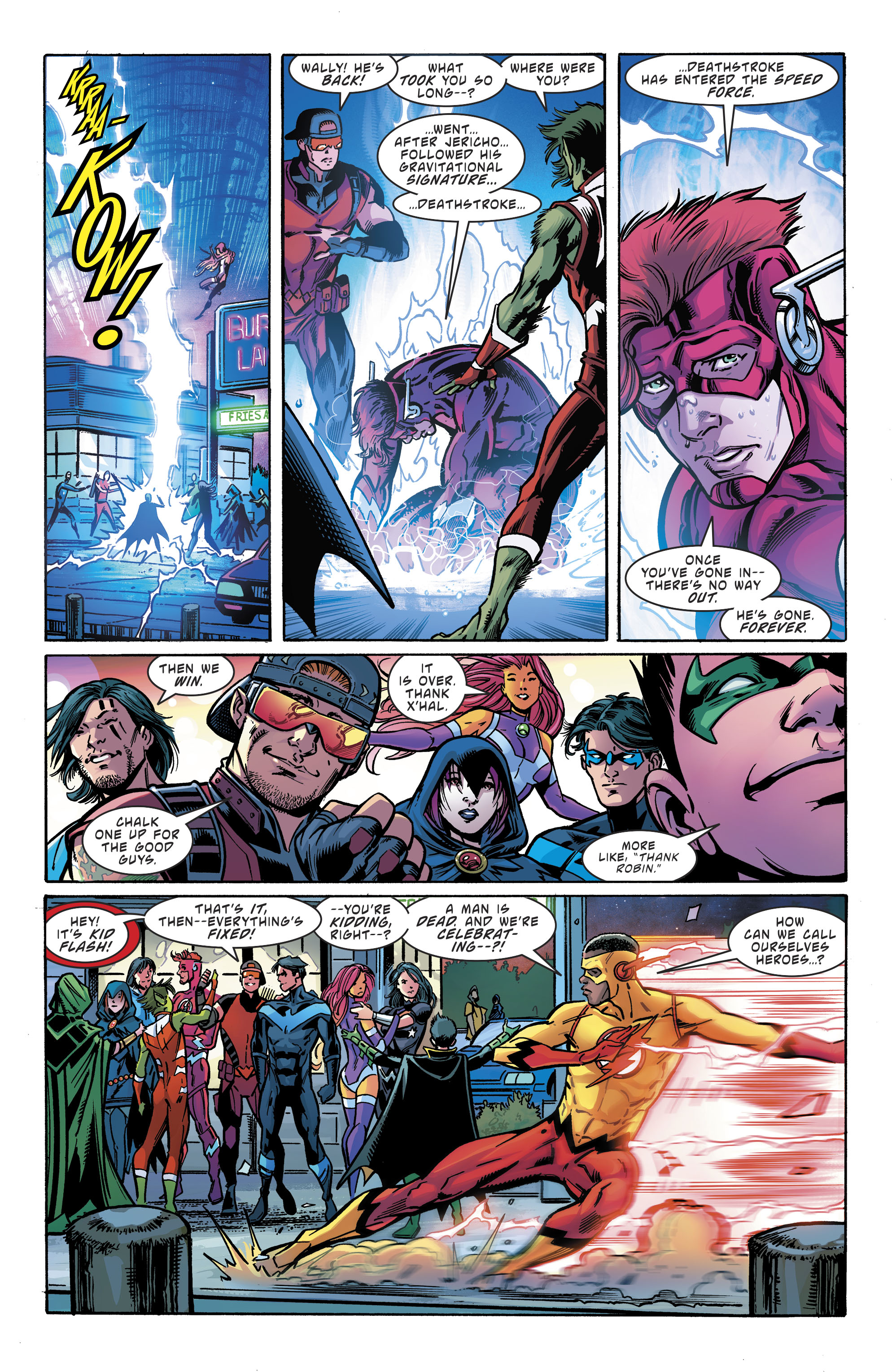 Read online Teen Titans (2016) comic -  Issue # Annual 1 - The Lazarus Contract Special 1 - 23
