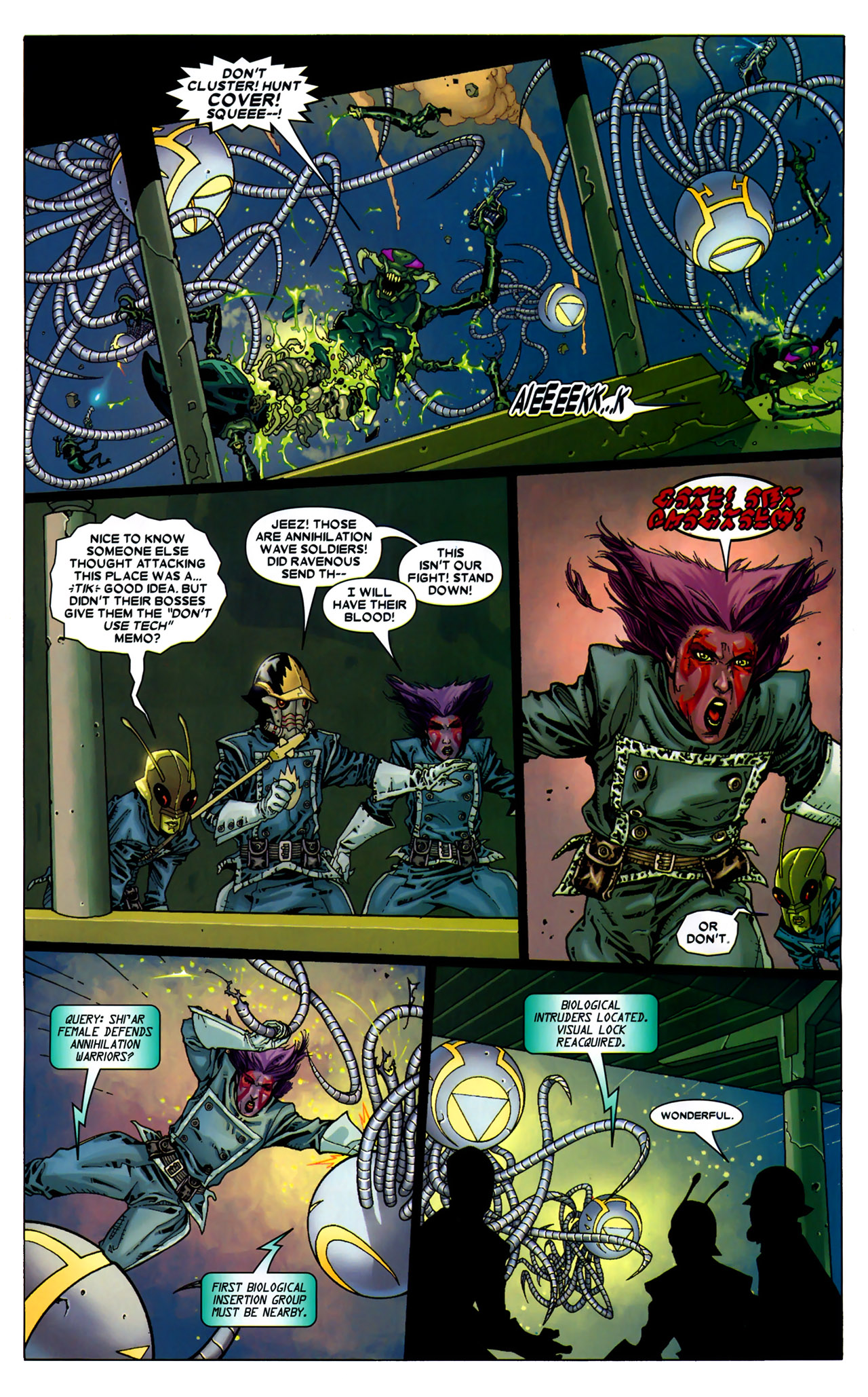 Read online Annihilation: Conquest - Starlord comic -  Issue #2 - 14
