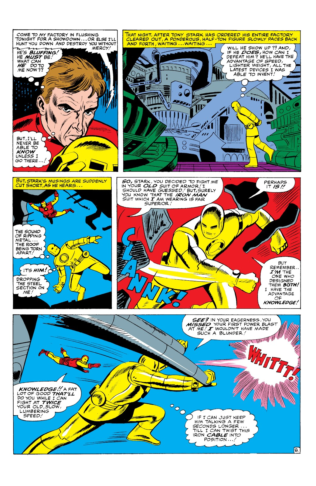 Read online Marvel Masterworks: The Invincible Iron Man comic -  Issue # TPB 2 (Part 3) - 36