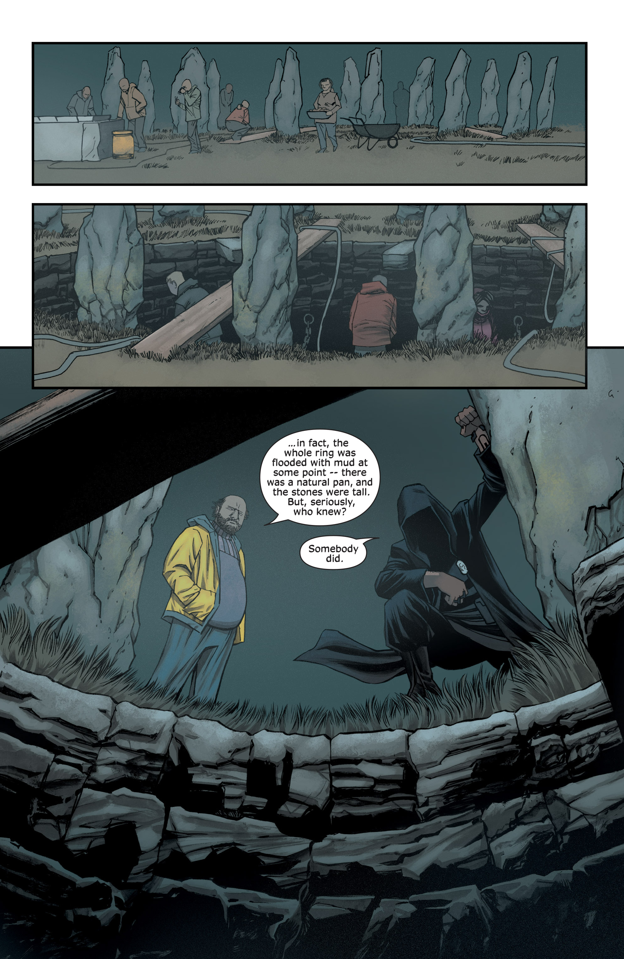 Read online Injection comic -  Issue #13 - 3