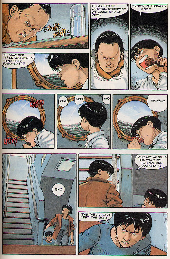 Read online Akira comic -  Issue #13 - 44