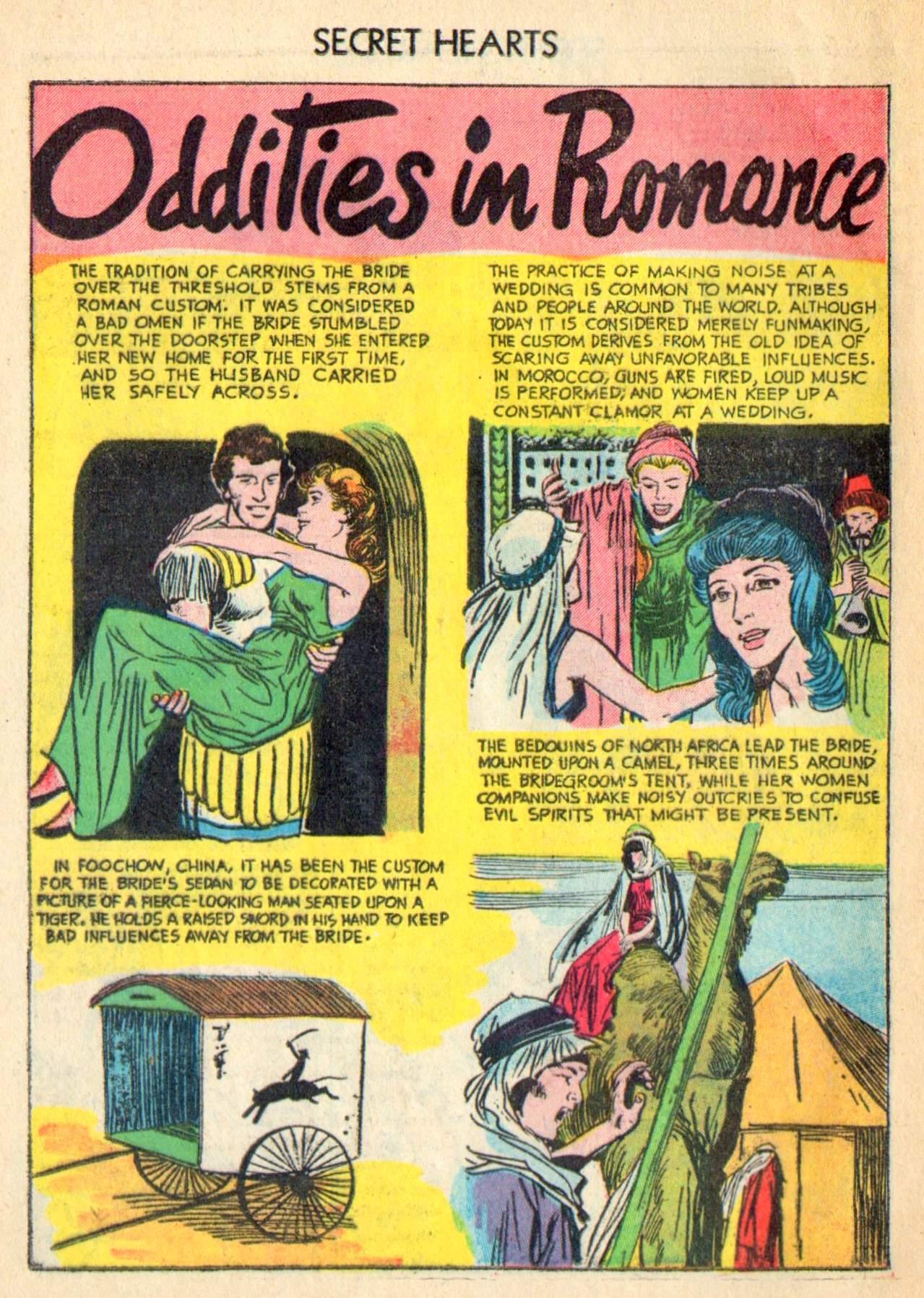 Read online Secret Hearts comic -  Issue #31 - 24