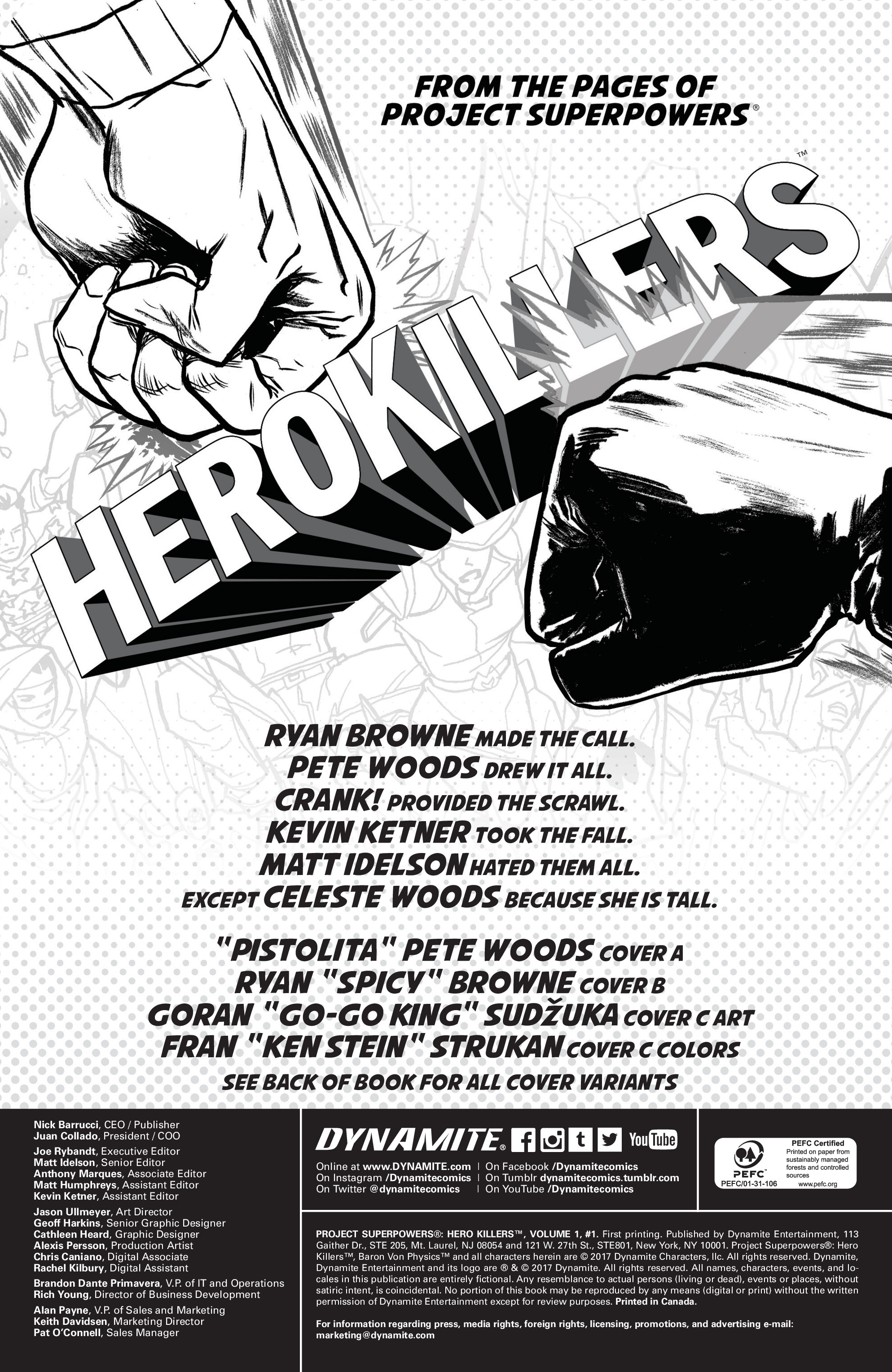 Read online Project Superpowers: Hero Killers comic -  Issue #1 - 4